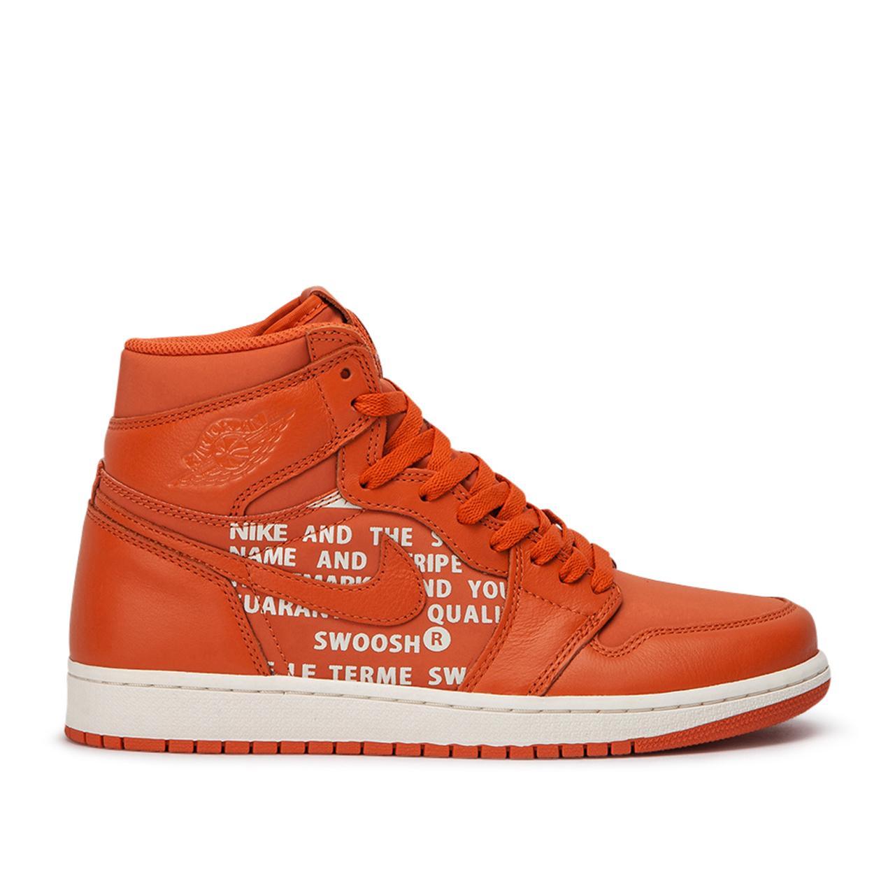 672086b335020c Nike - Orange Air Jordan 1 Retro High Og for Men - Lyst. View fullscreen
