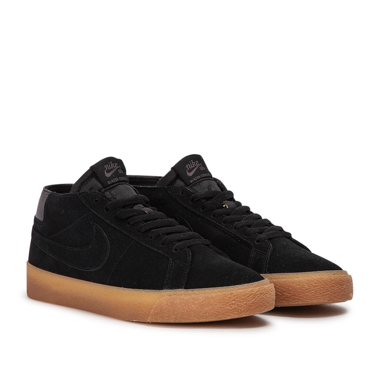 new arrival 937be dff6b Men's Black Nike Sb Zoom Blazer Chukka