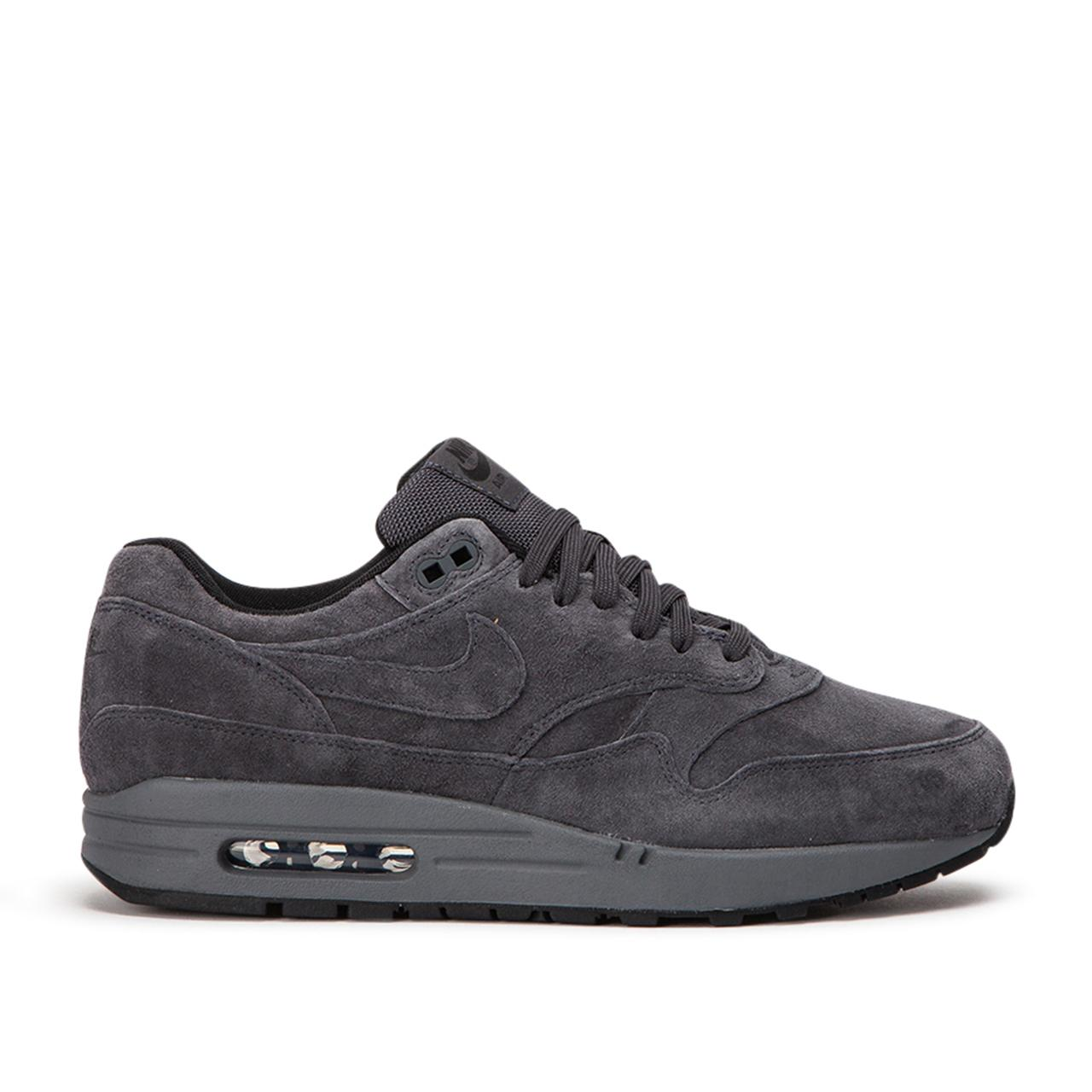 Nike Suede Nike Air Max 1 Premium in Grey (Gray) for Men - Lyst