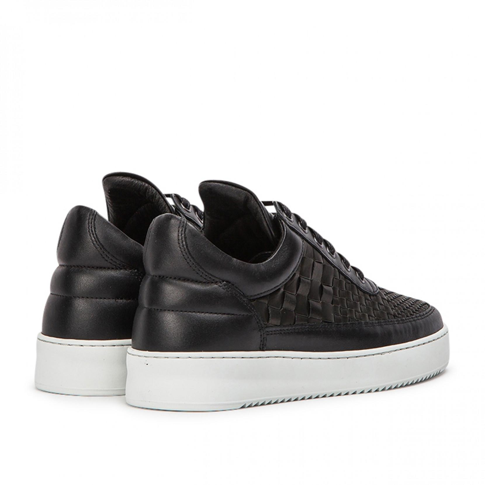 Filling Pieces Leather Low Top Ripple