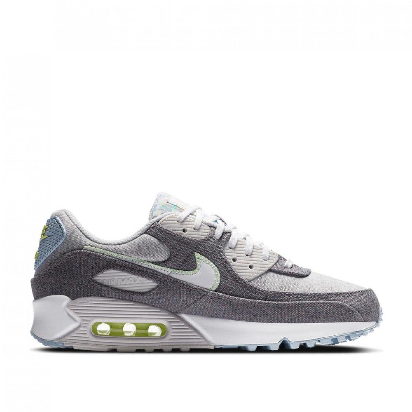 Nike Leather Air Max 90 Nrg in Grey (Gray) for Men - Lyst