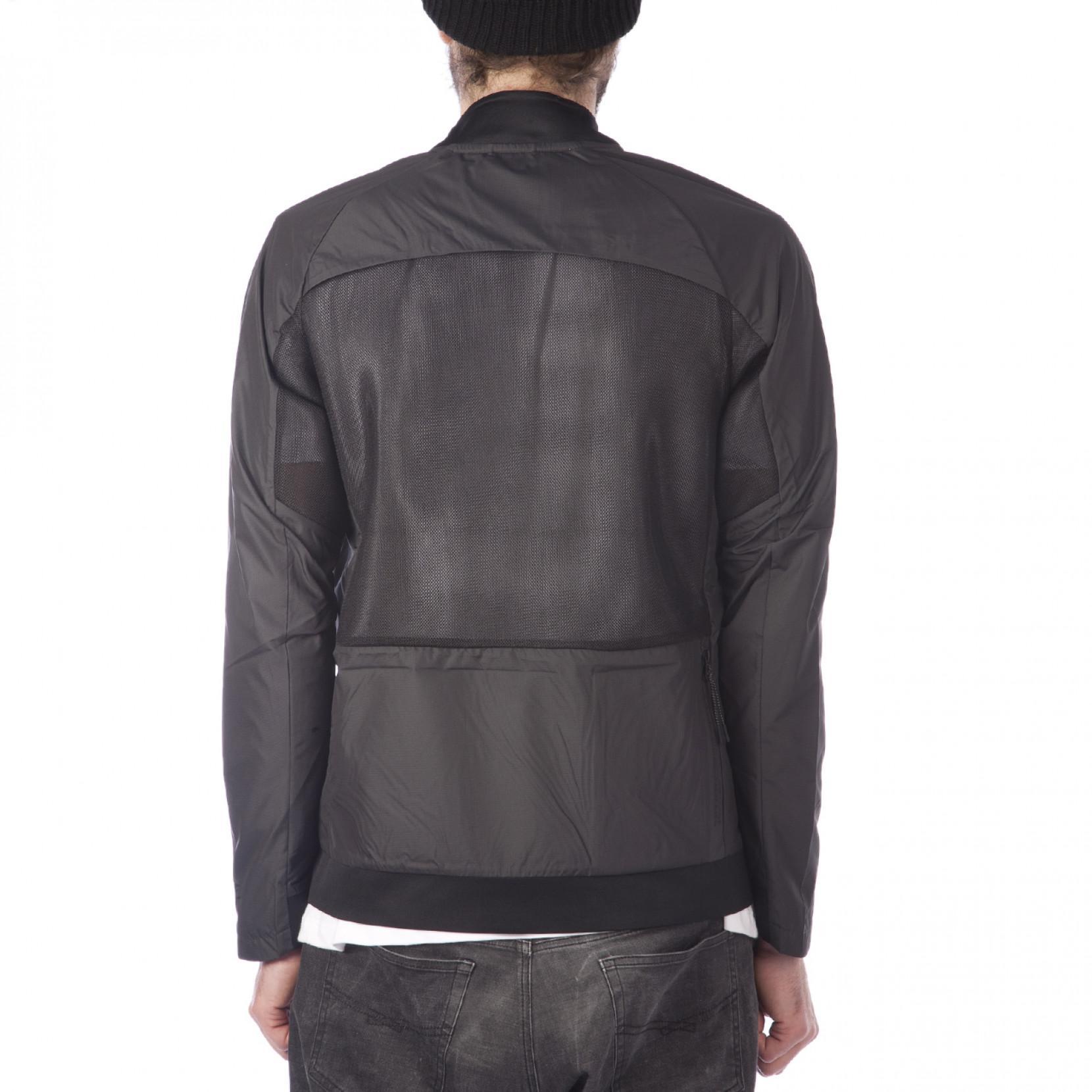 Nike Synthetic Nike Tech Hypermesh Varsity Jacket in Black for Men
