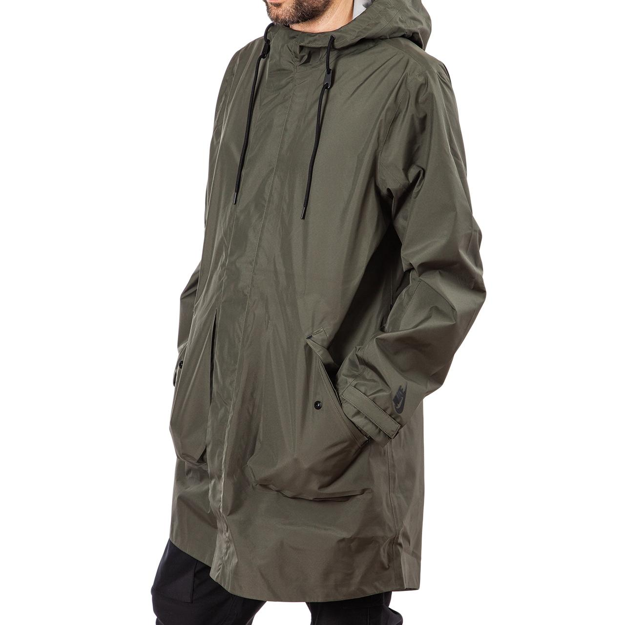 8f79be4a80 Nike - Green Nrg 3 Layer Parka for Men - Lyst. View fullscreen