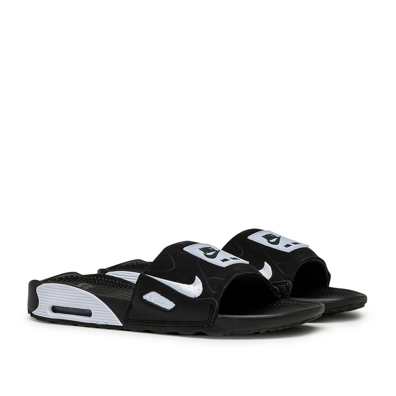 Nike Air Max 90 Slide in Black   White (Black) for Men - Save 53 ...