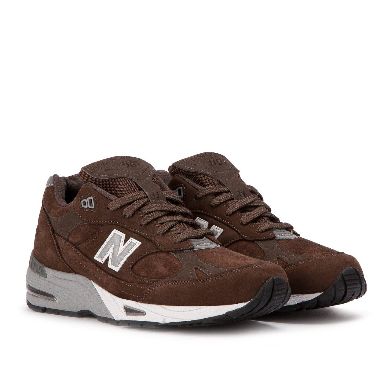 new balance 991 brown