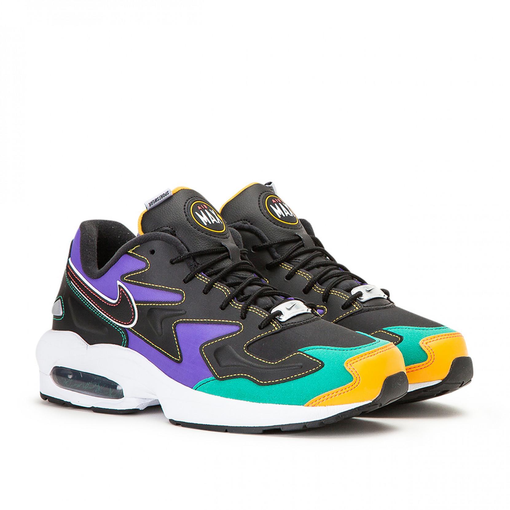 Nike Air Max2 Light Premium Shoe (black) - Clearance Sale for Men ...