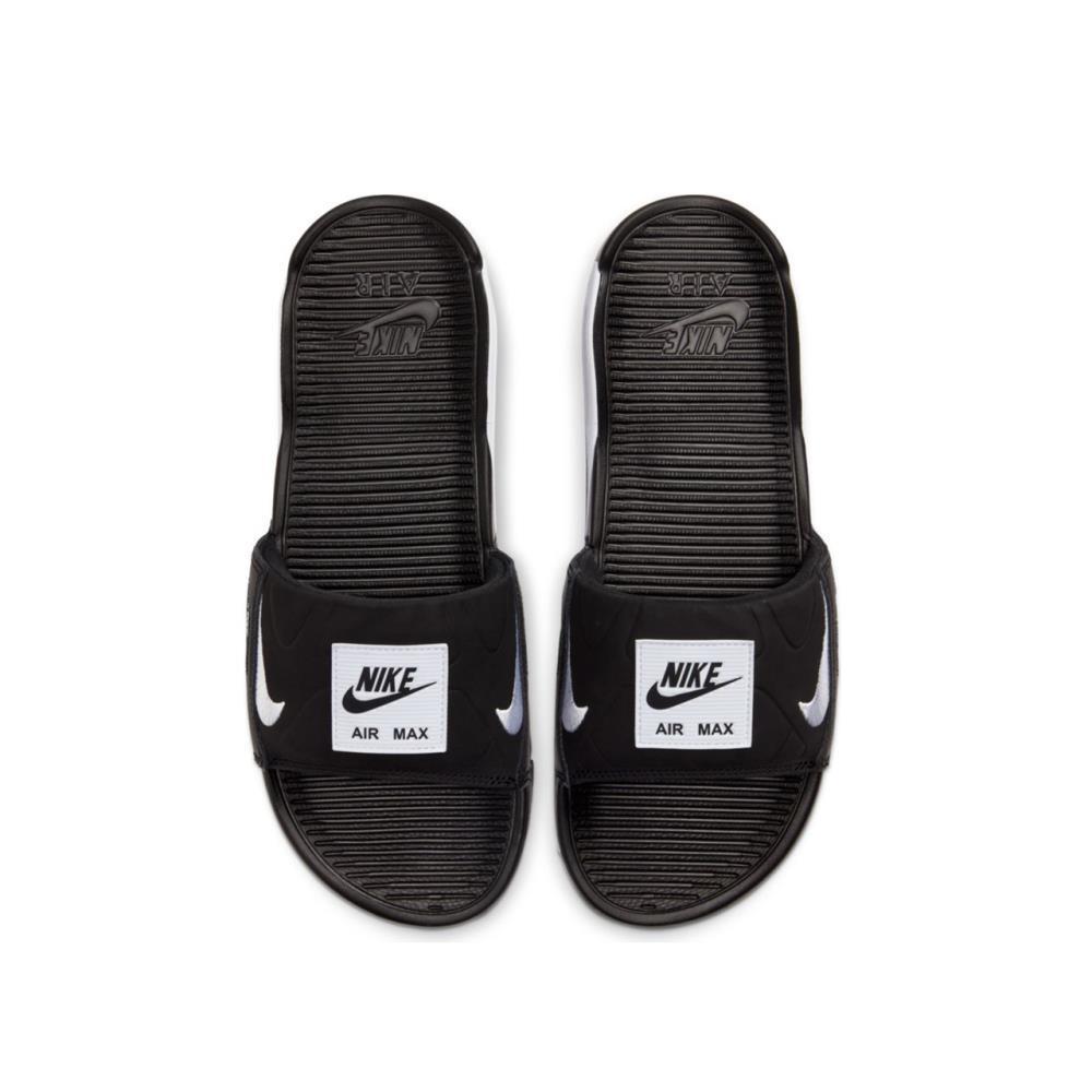 Nike Air Max 90 Slide in Black | White (Black) for Men - Save 52 ...