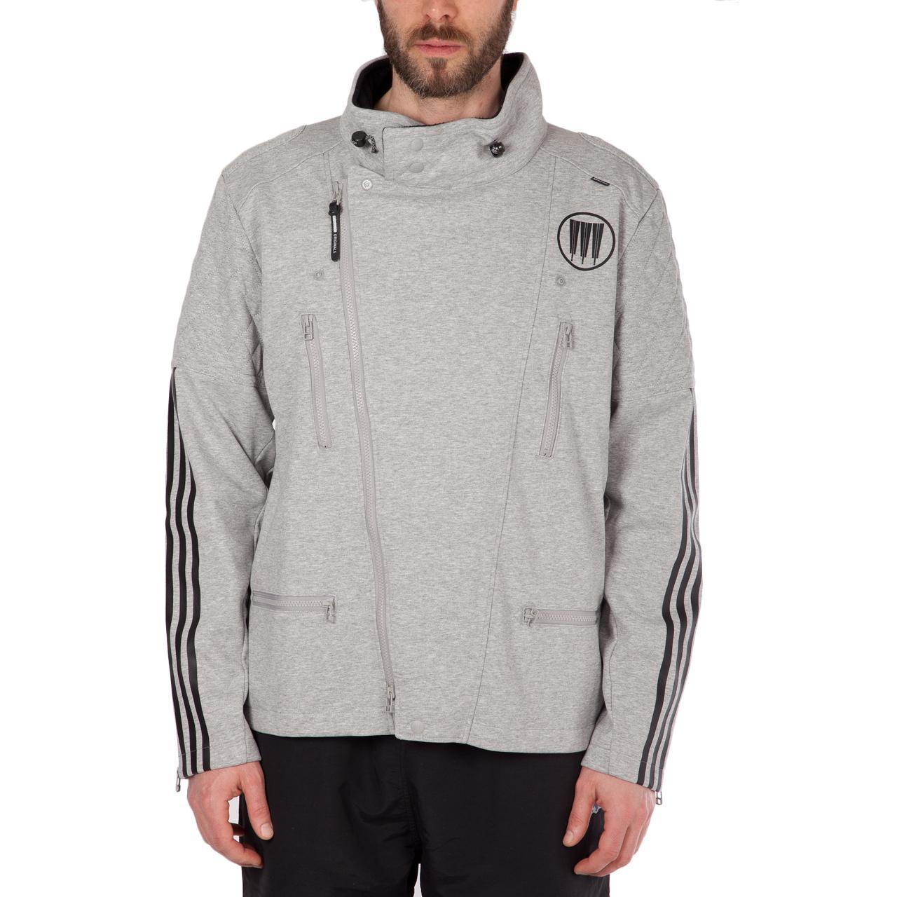 adidas X Neighborhood Nbhd Riders Track Jacket in Grey (Grey) for Men