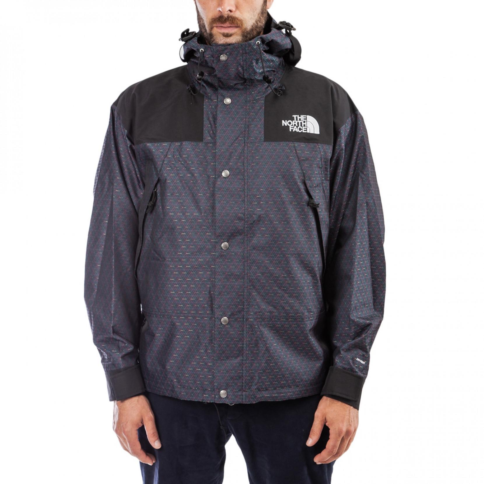 bf4eaf3de Men's Black 1990 Engineered Jacquard Mountain Jacket ''cmyk Pack''