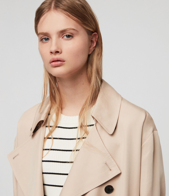 Brooke Long Nude brooke trench coat