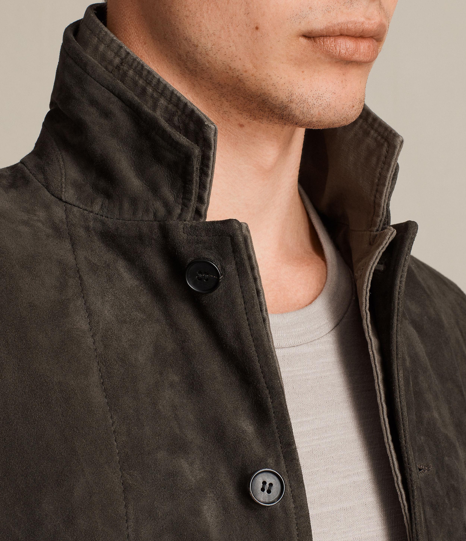 AllSaints Huxton Leather Blazer for Men