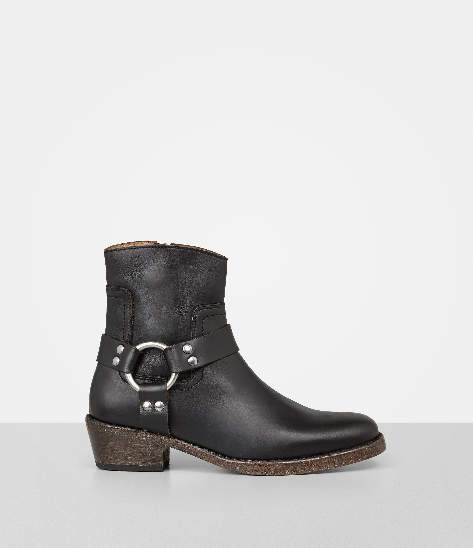 AllSaints DAKOTA - Cowboy/Biker boots - black 58Tsuih
