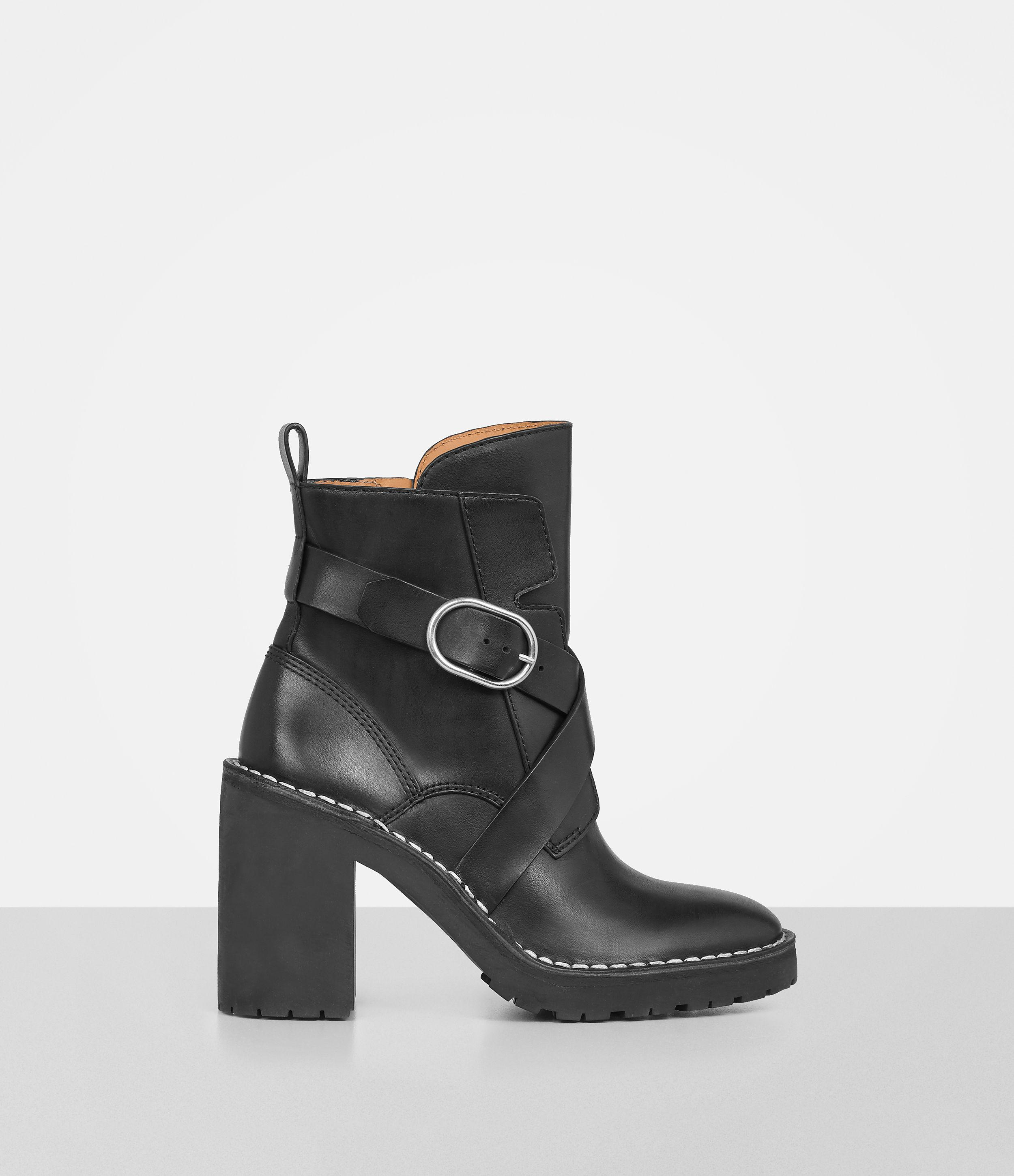 Allsaints Aiko Boot In Black Lyst