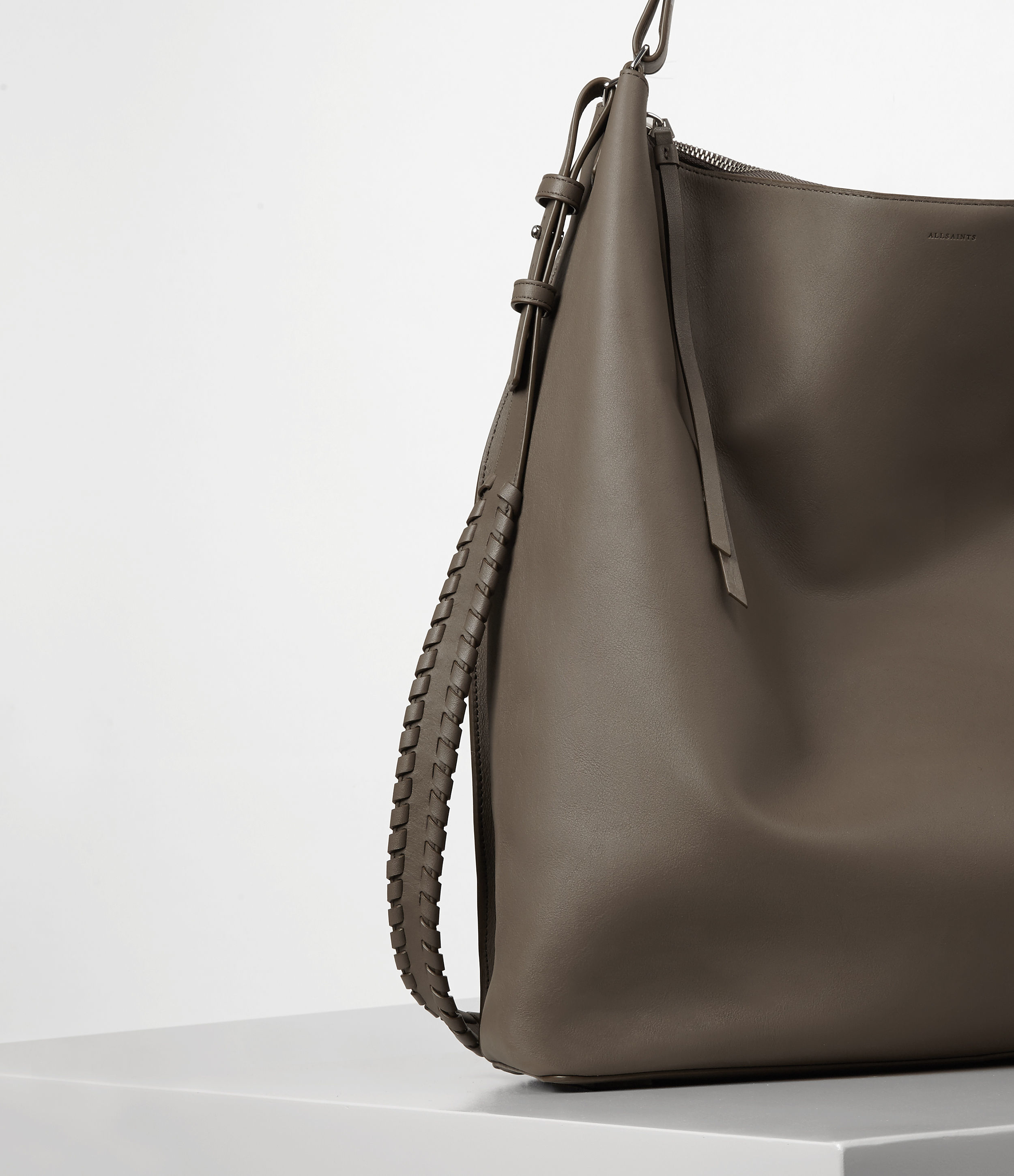 AllSaints Leather Kita Large North South Tote