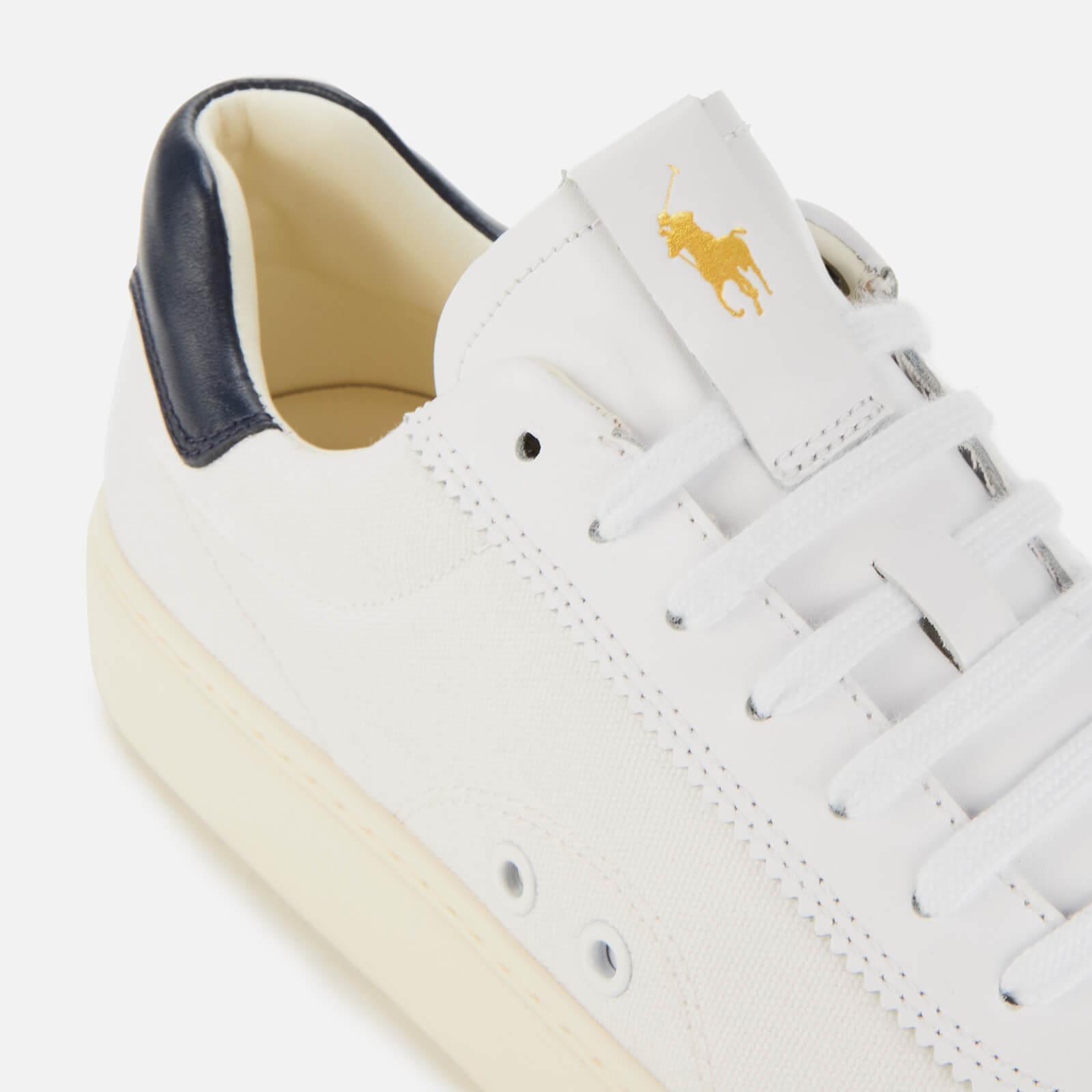 830047c94c Men's White Court 100 Lux Canvas Sneakers