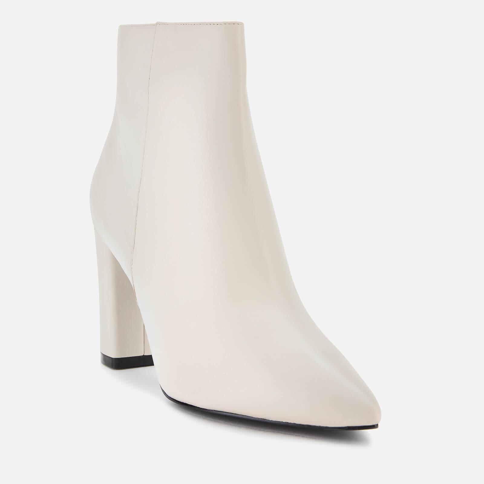 Dune Otilia Leather Heeled Ankle Boots