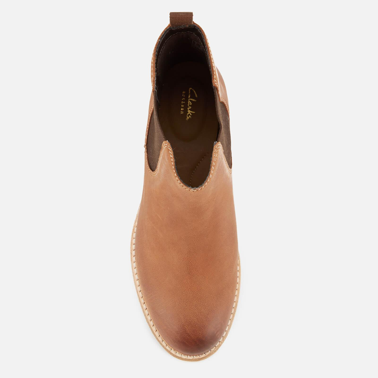 85037f17 Clarks Brown Women's Maypearl Nala Leather Chelsea Boots