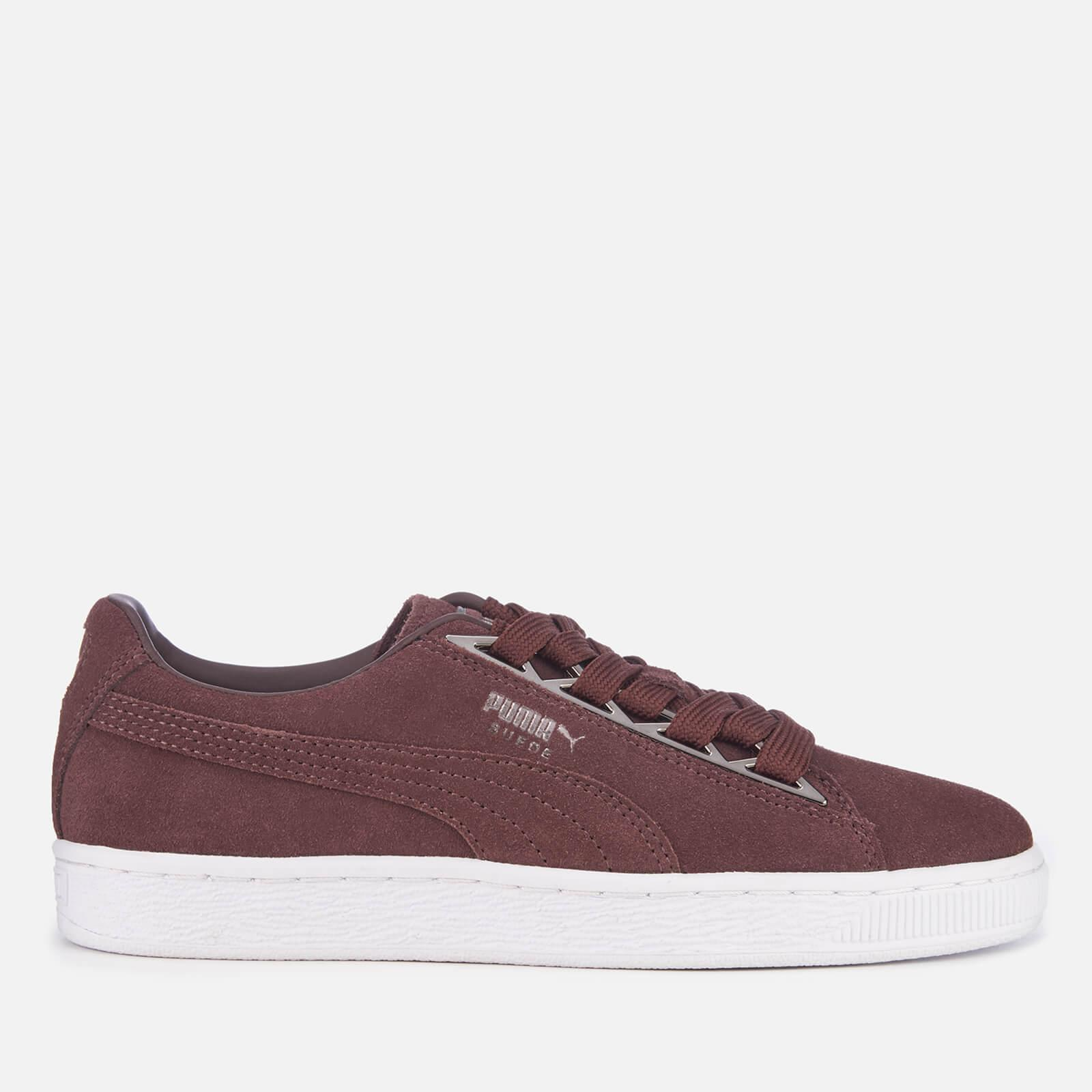 PUMA Platform Trace Trainers In Yellow Lyst