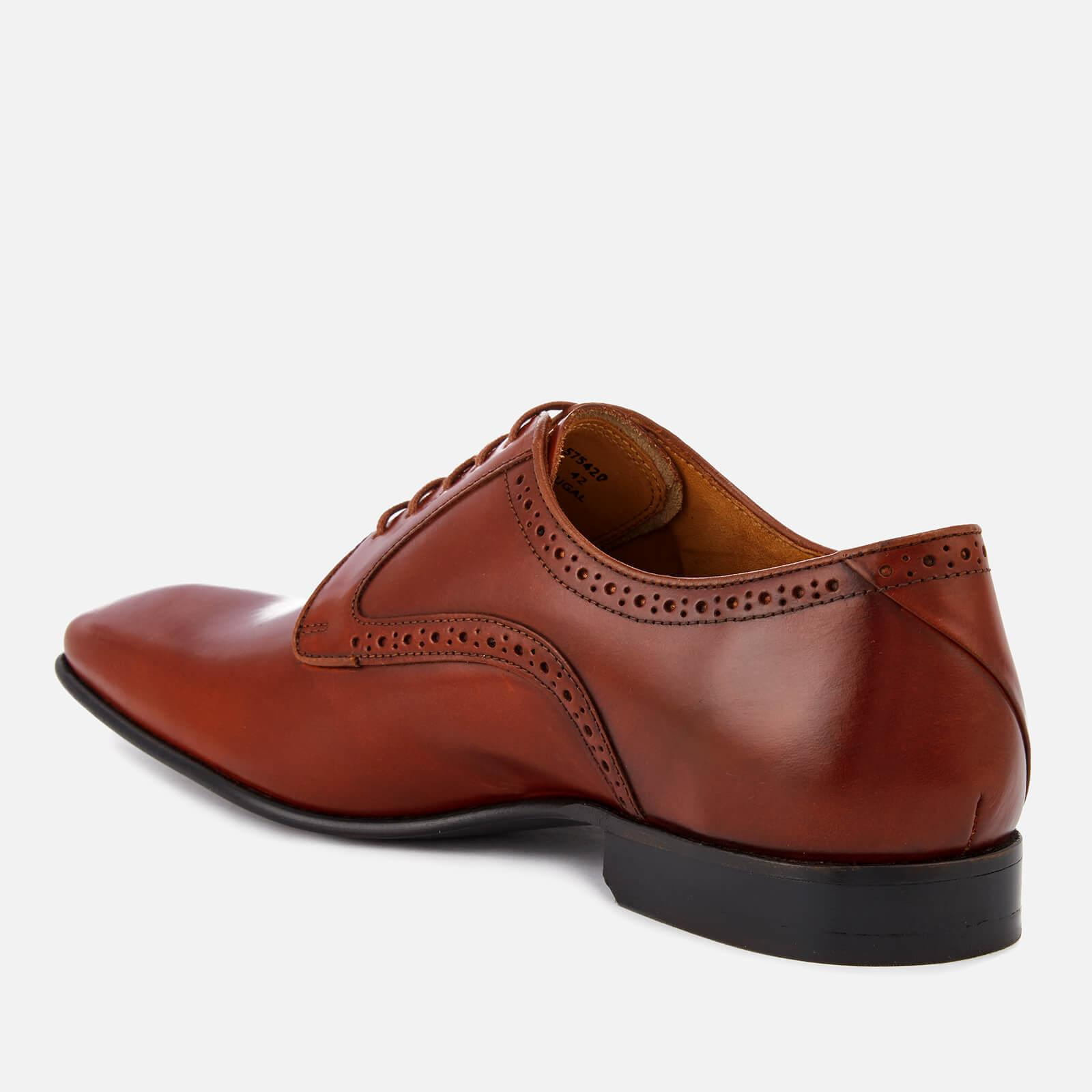 PS by Paul Smith Roth Leather Almond Toe Derby Shoes for Men