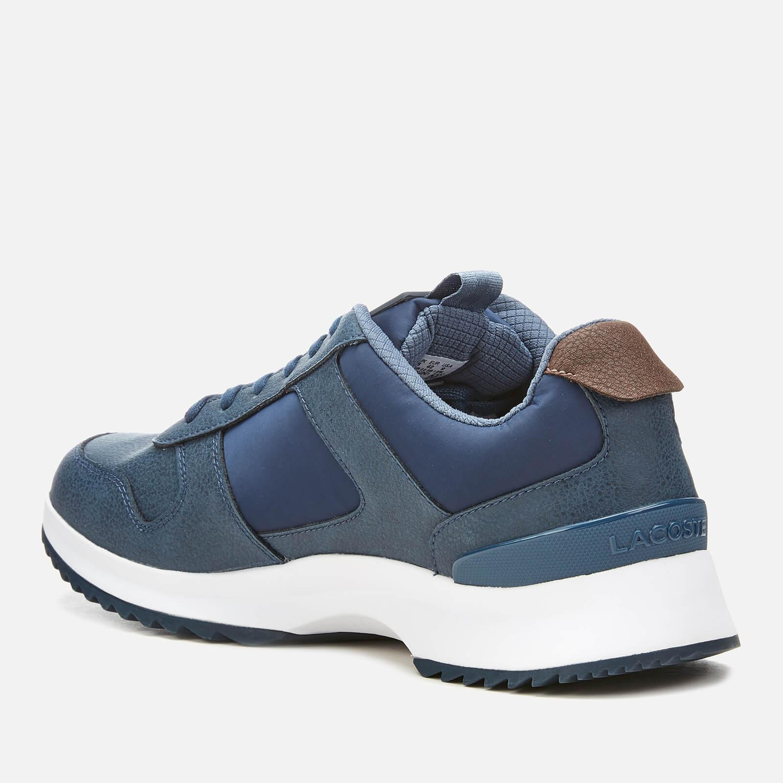 c0a359b5e68 Lacoste - Blue Joggeur 2.0 318 1 Textile leather Runner Style Trainers for  Men -. View fullscreen