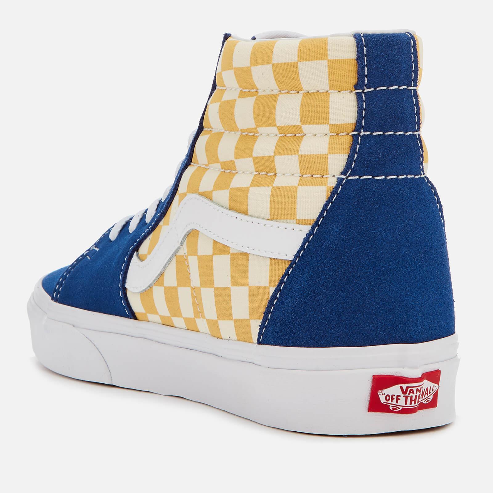Vans Suede Sk8-hi Bmx Checkerboard Trainers in Blue for Men