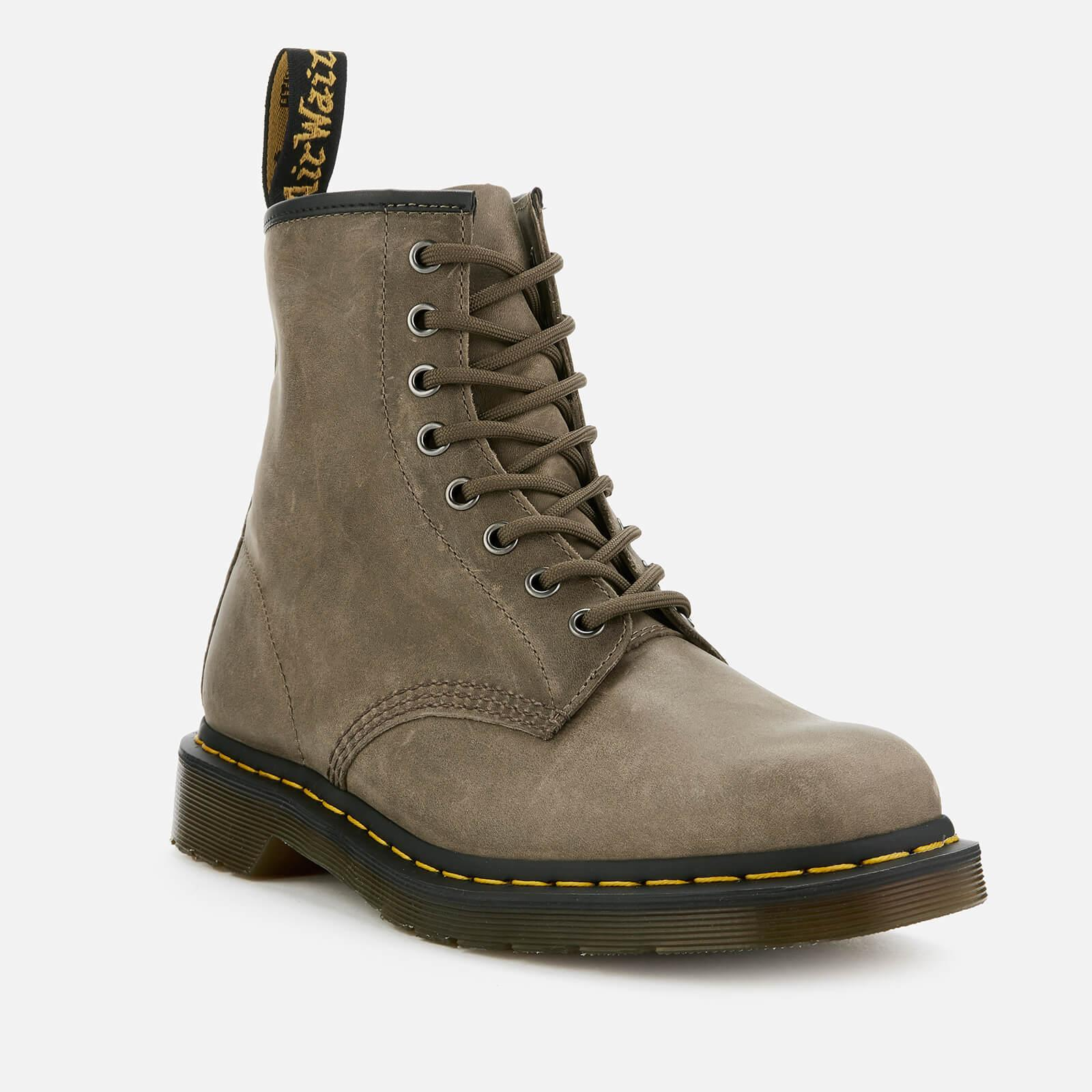 8f04eafa54c5f2 Lyst - Dr. Martens 1460 Dusky Leather 8-eye Boots in Gray for Men
