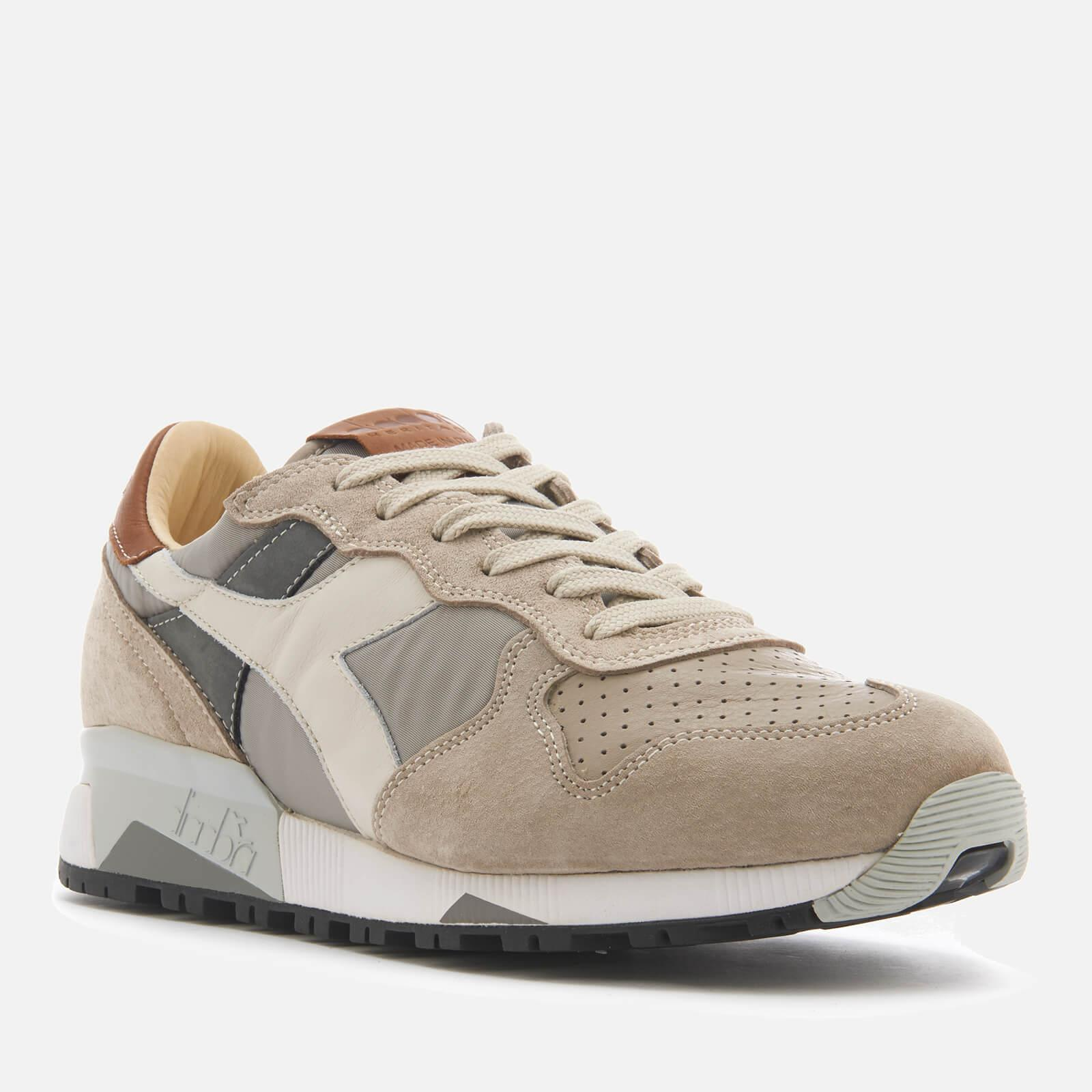 compilare carta trattino  Diadora Heritage Men's Trident 90 Nyl Leather/perforated Runner Trainers in  Grey (Gray) for Men - Lyst