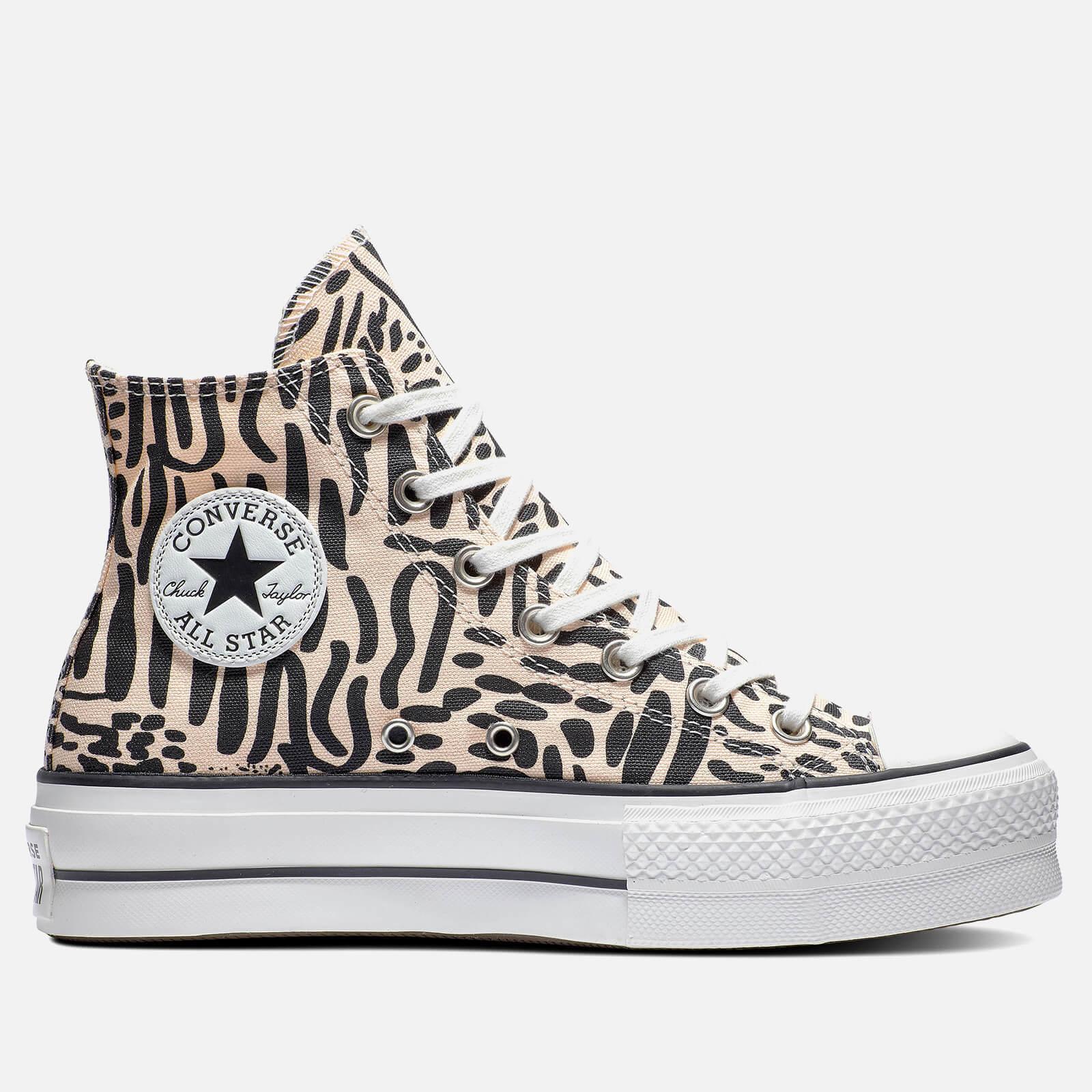 Converse Canvas Chuck Taylor All Star Jungle Art Lift Hi-top ...