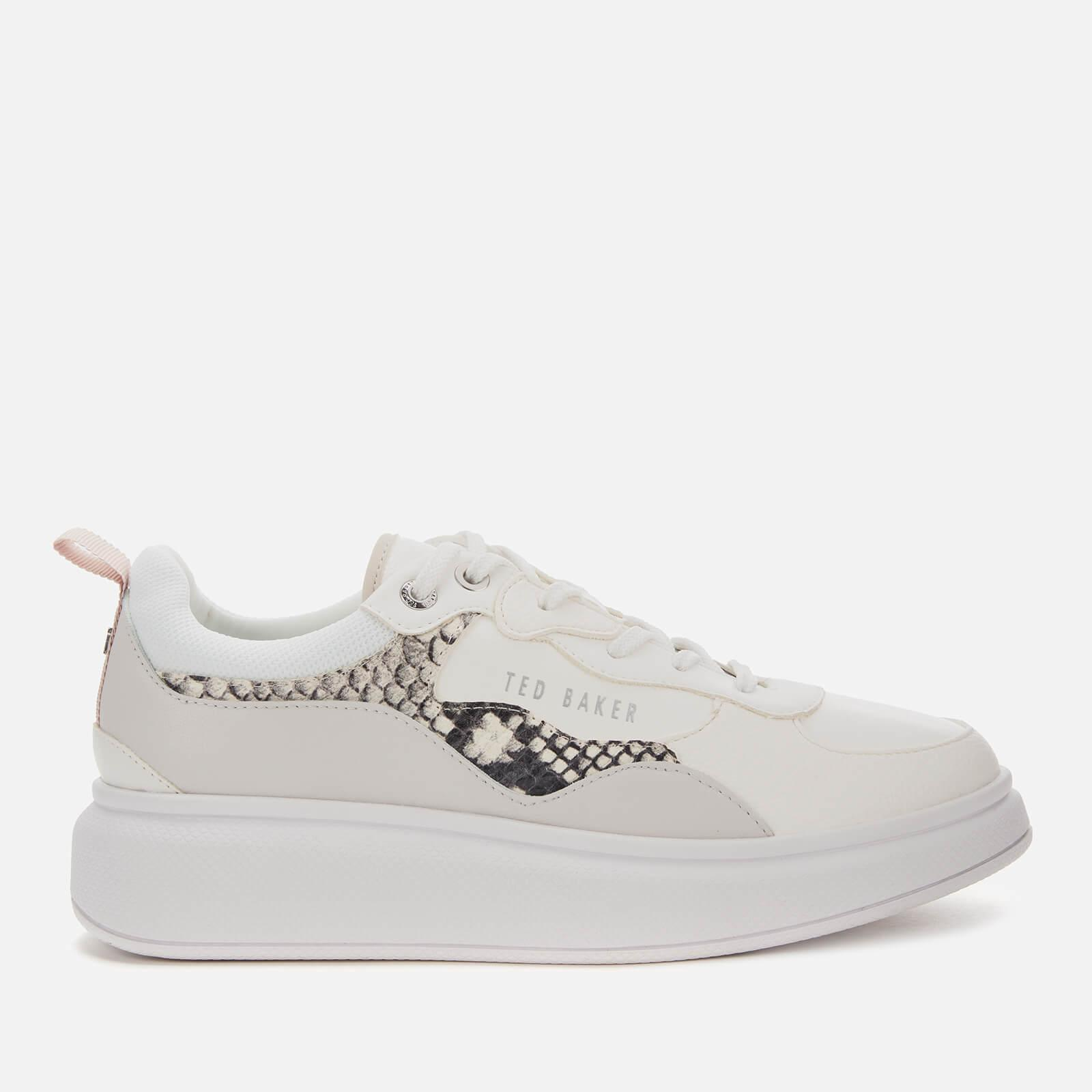 Arellis Chunky Trainers in White