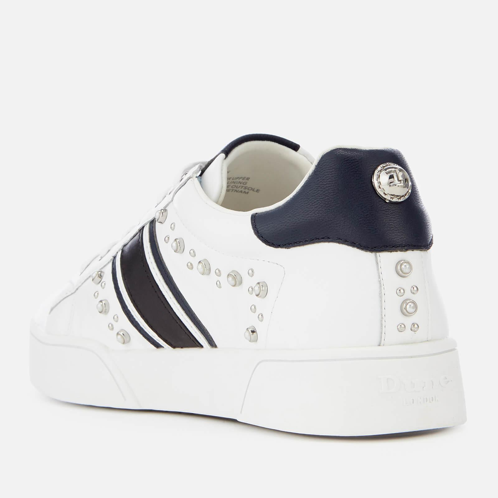 Dune Eryn Leather Cupsole Trainers in
