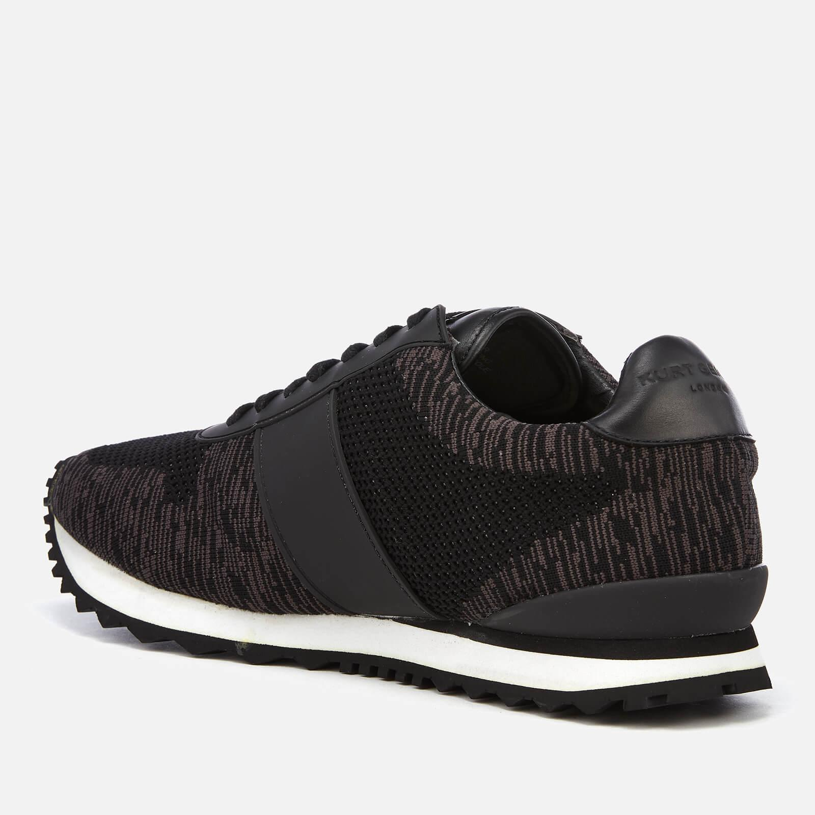 Knitted Runner Style Trainers in Grey