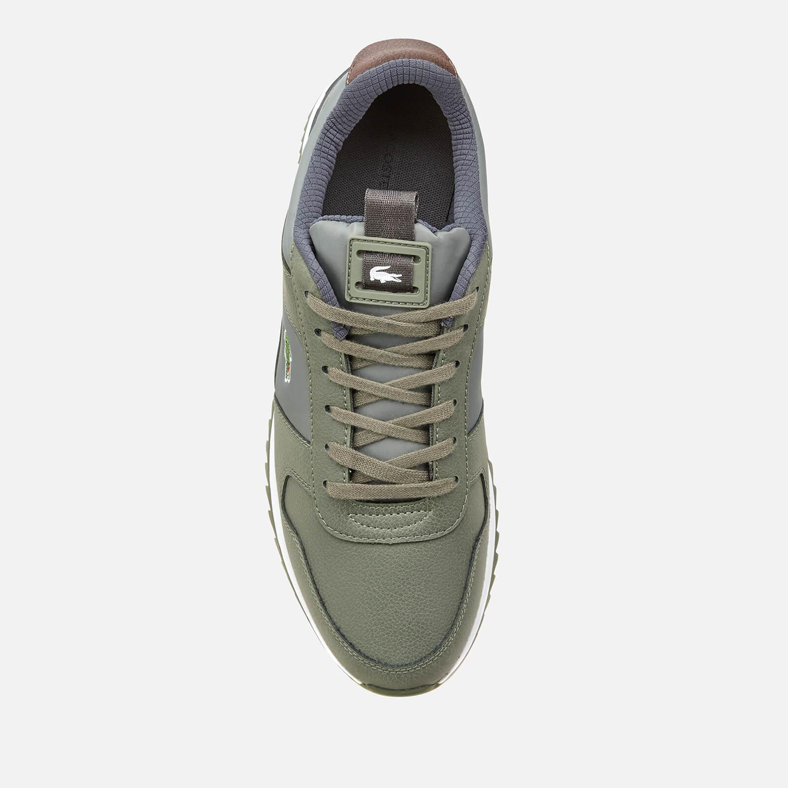 daa1fc8cbc1 Lacoste - Green Joggeur 2.0 318 1 Textile leather Runner Style Trainers for  Men -. View fullscreen