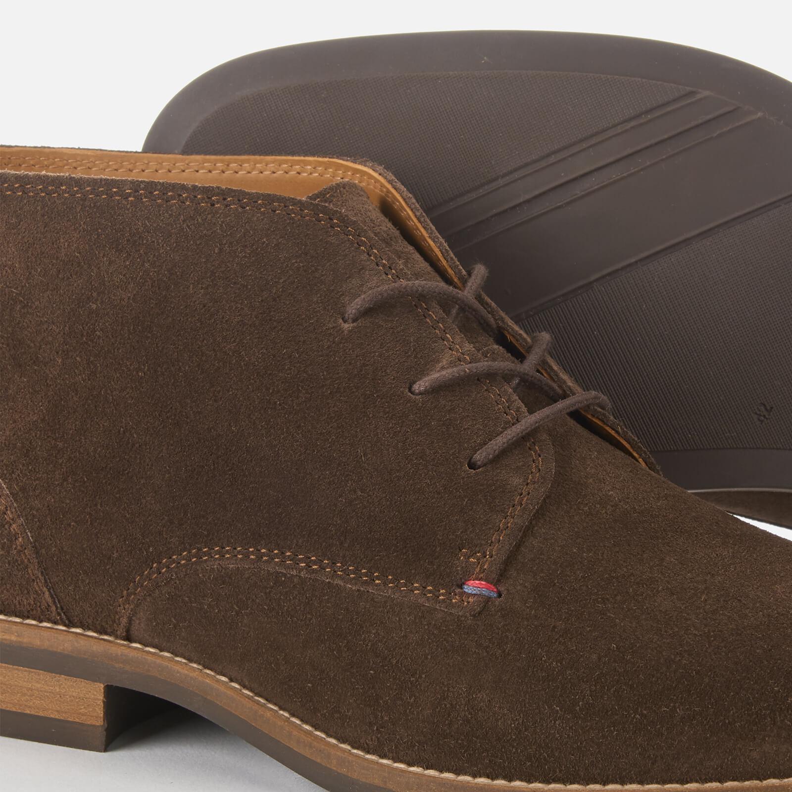 80f83e9345e0e6 Tommy Hilfiger - Brown Essential Suede Desert Boots for Men - Lyst. View  fullscreen