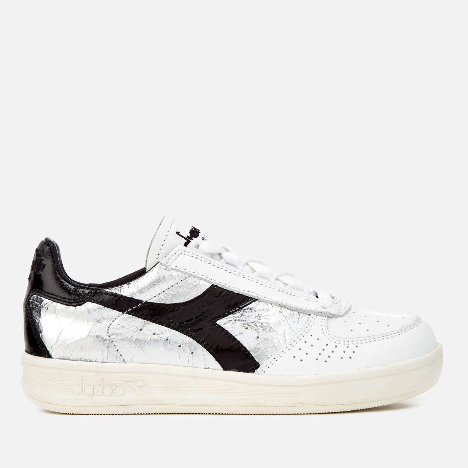 Diadora Heritage Women's B.Elite Silver Grain Leather Trainers Clearance Best Seller Up To Date Store Sale Online Sale Reliable rXUfxpC1t