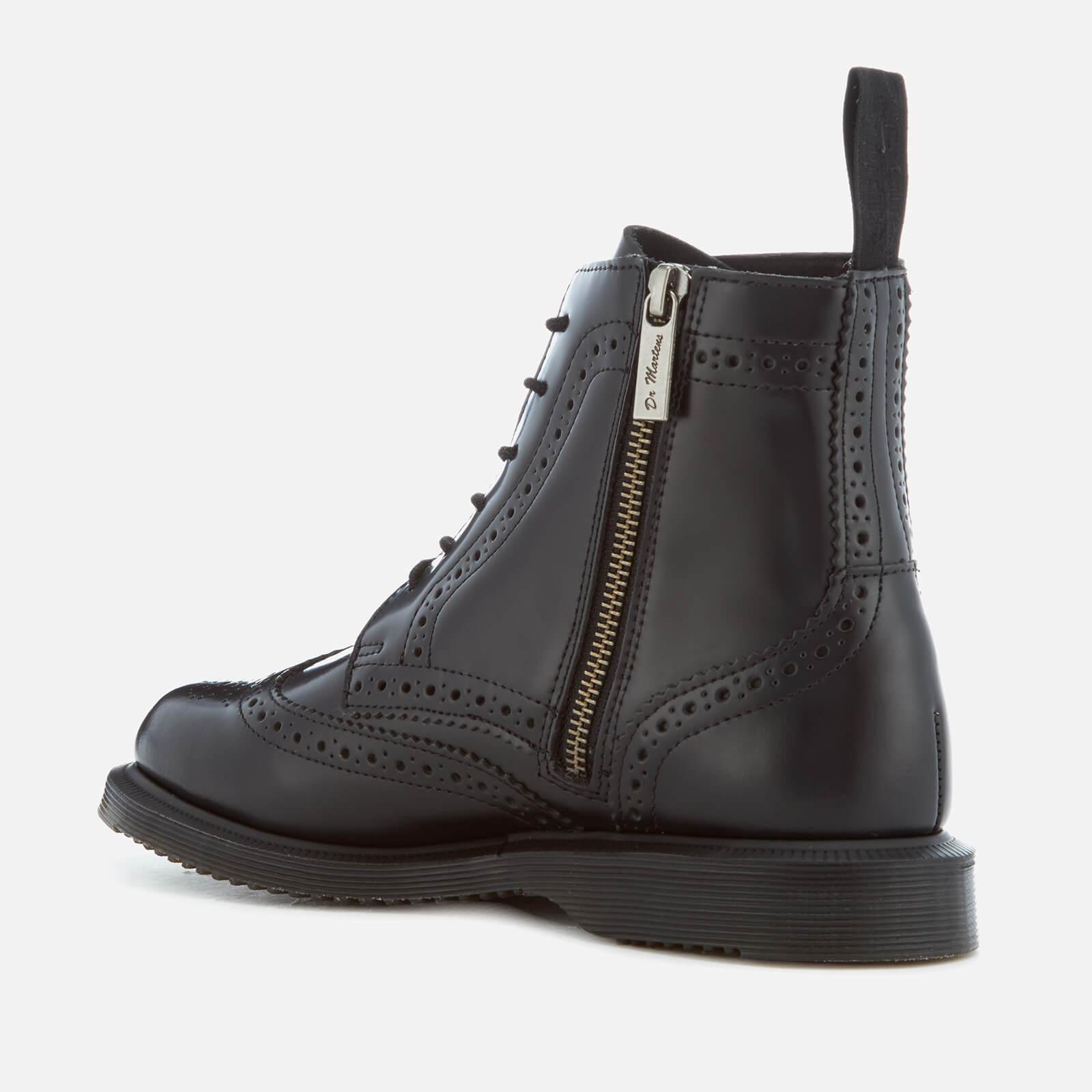 nowe przyloty dobra tekstura oficjalny dostawca Women's Kensington Delphine Polished Smooth Lace Up Boots