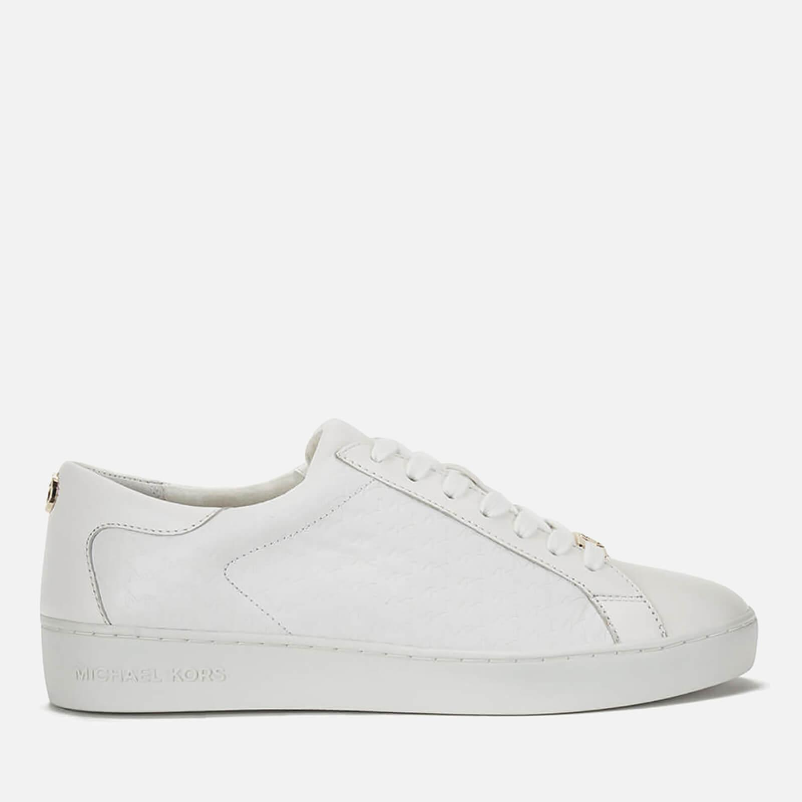 07773345f701 MICHAEL Michael Kors Women s Colby Trainers in White - Save 2% - Lyst
