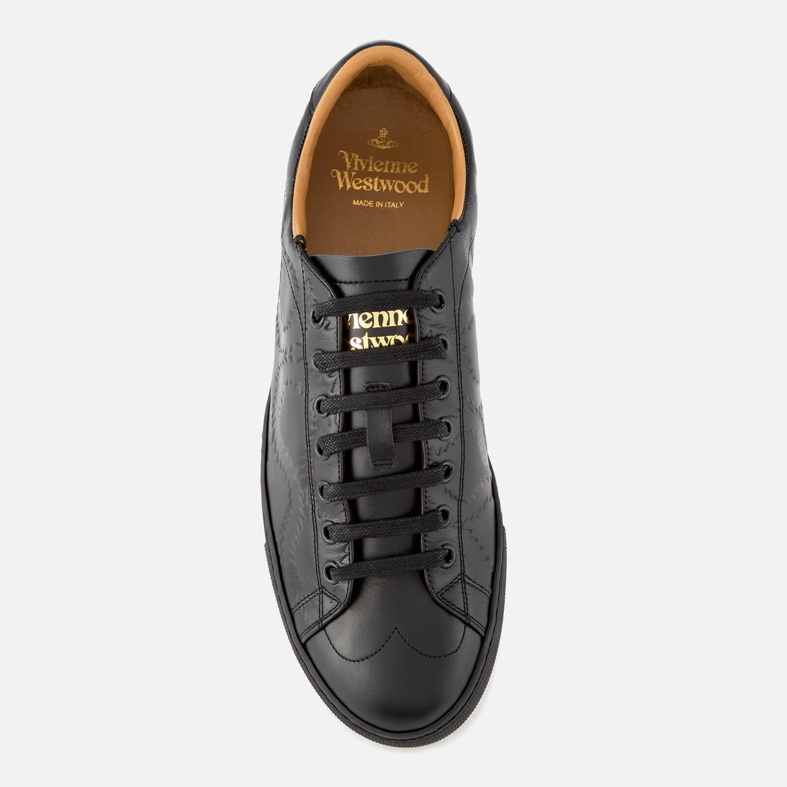 Derby Leather Low Top Trainers