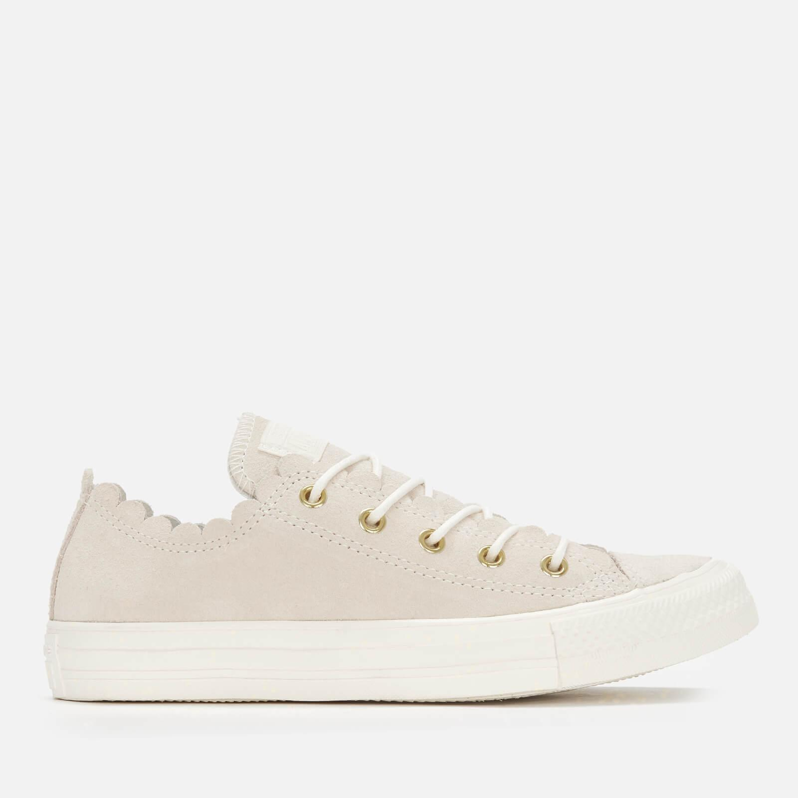 Star Scalloped Edge Ox Trainers