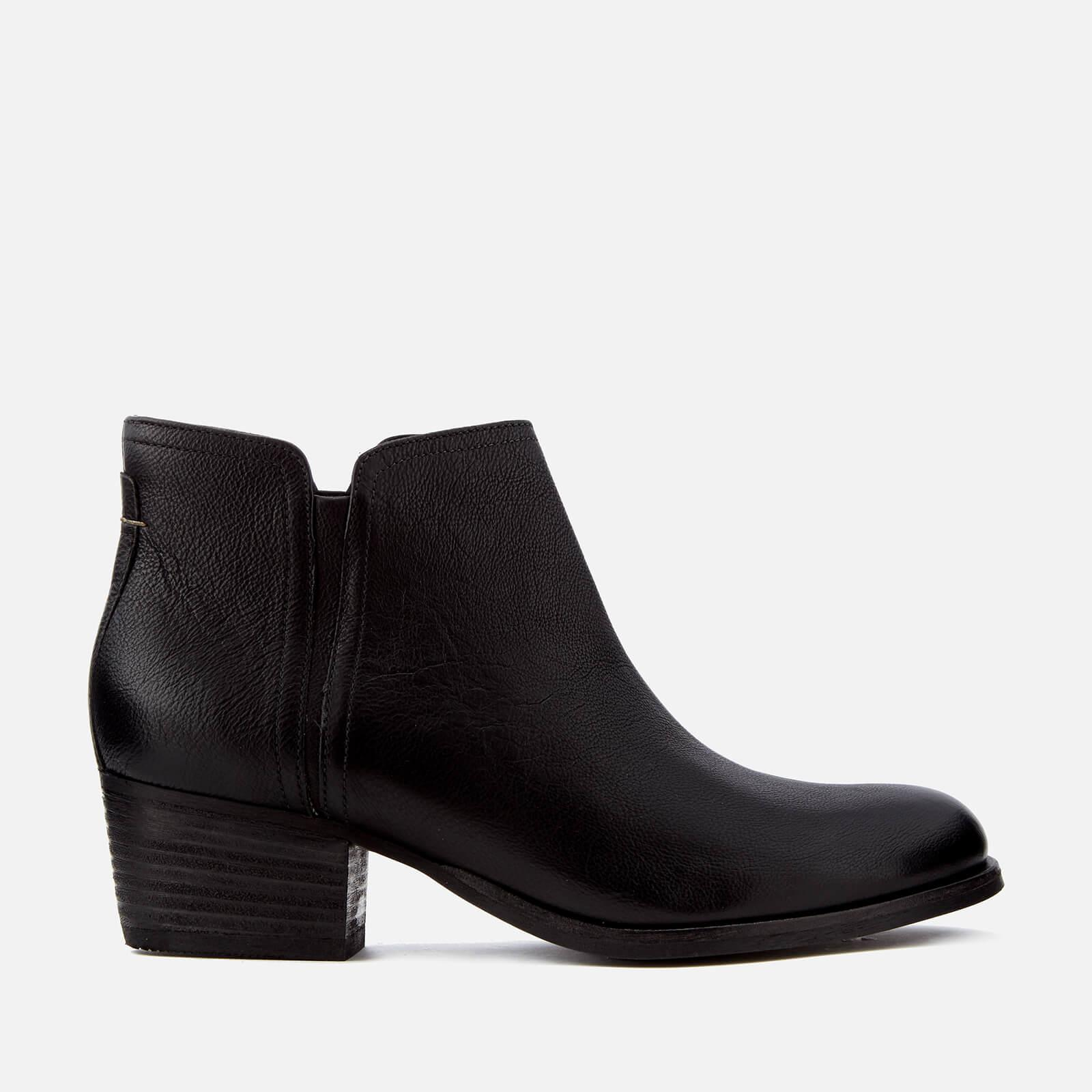 Lyst Clarks Women S Maypearl Ramie Leather Ankle Boots