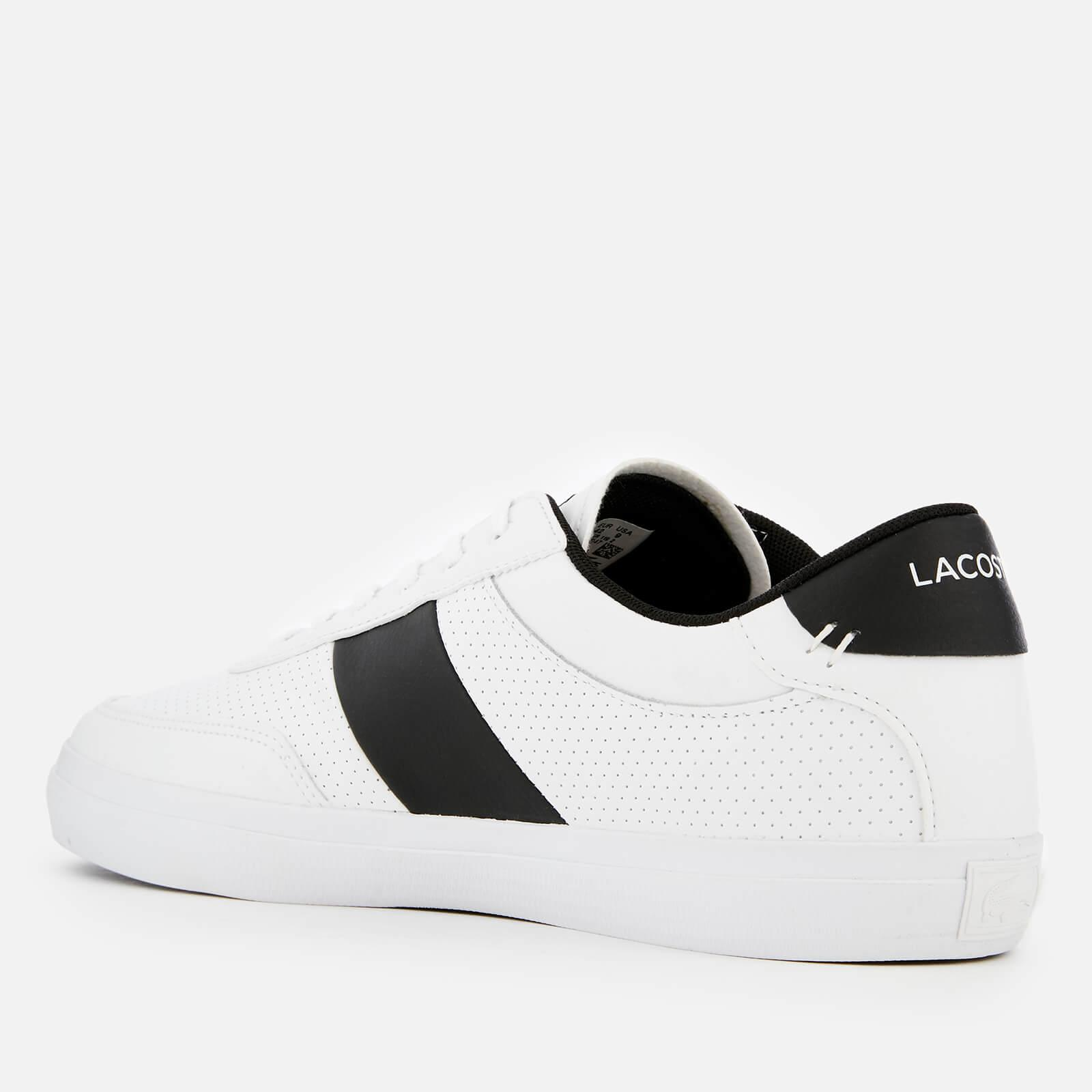 b441ffacf Lacoste Court-master 119 2 Perforated Leather Trainers in White for ...