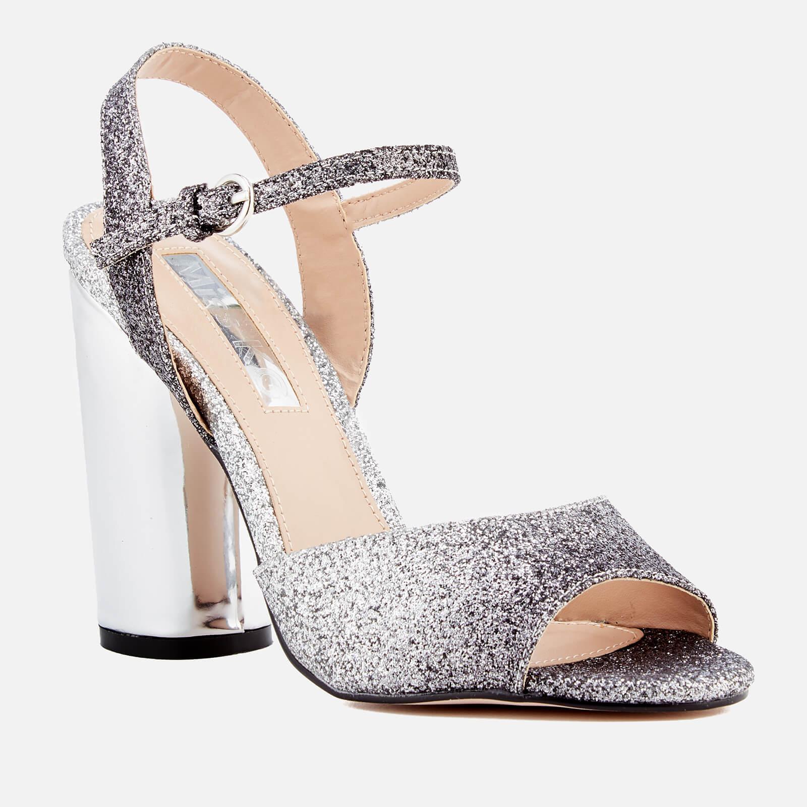 Miss Kg Strappy Sandal in Silver (Metallic) - Lyst