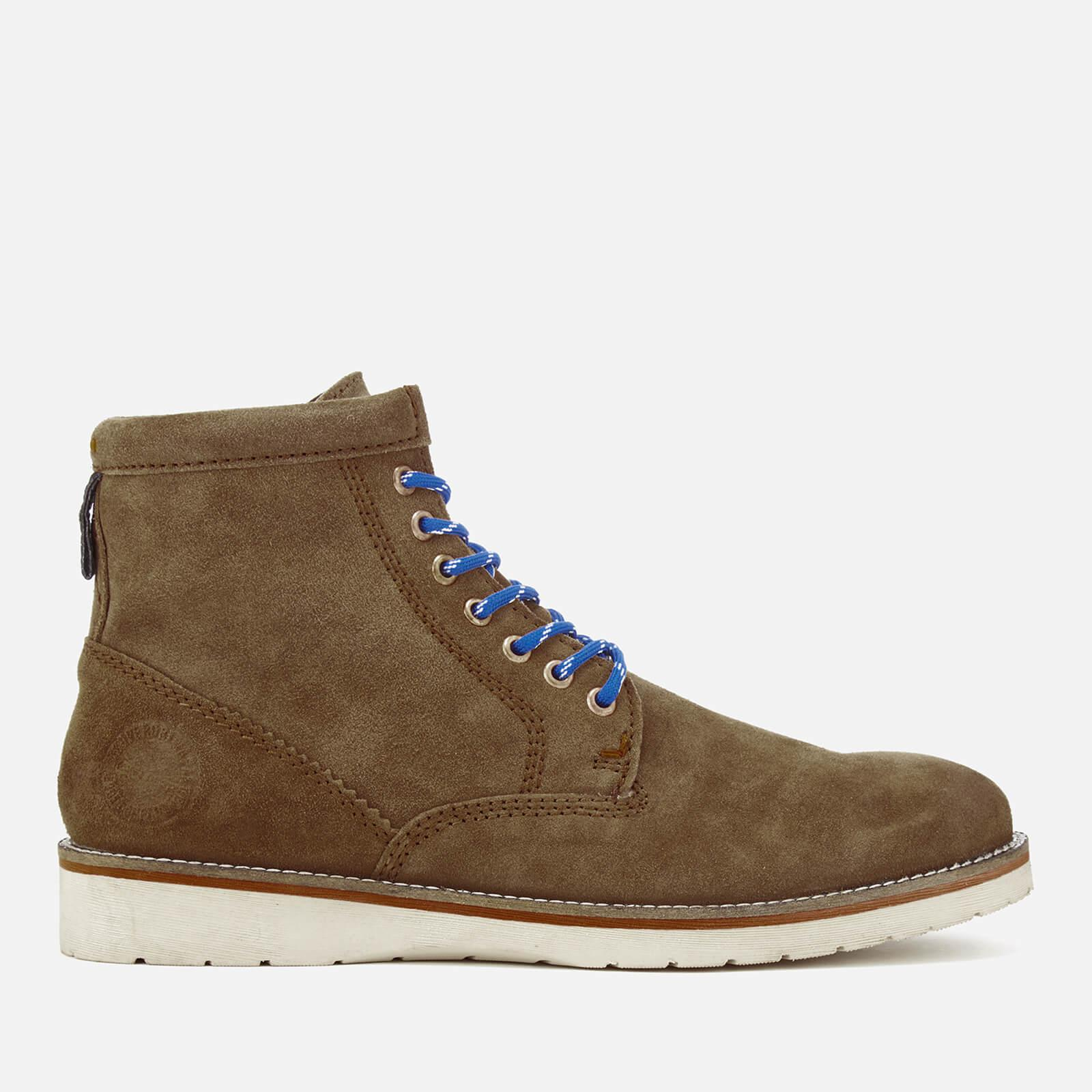 Lyst Superdry Men S Stirling Lace Up Boots In Brown For Men