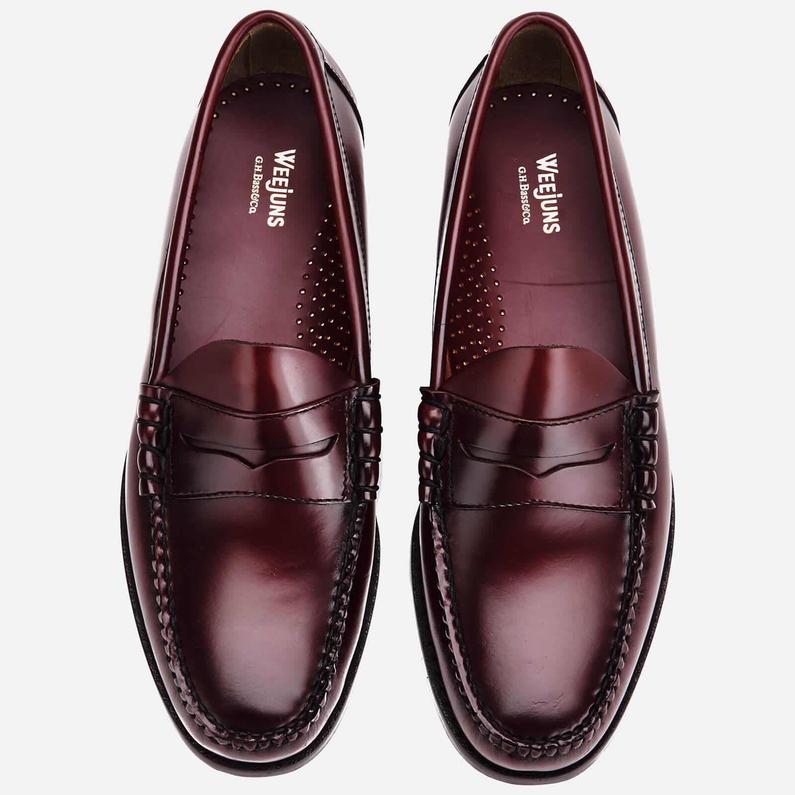 89116ff366c G.H.BASS - Multicolor Men s Larson Moc Leather Penny Loafers for Men -  Lyst. View fullscreen