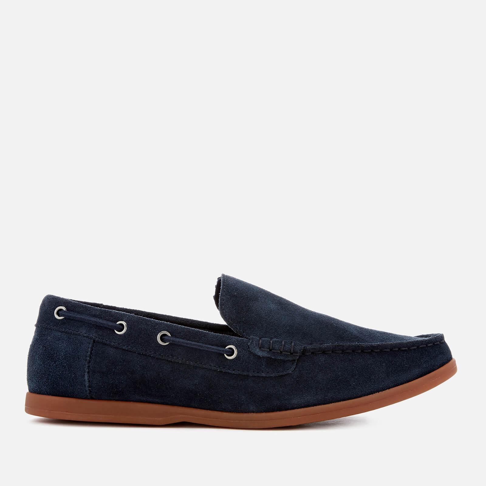 Blue suede 'Morven Sun' slip on shoes Grey outlet store online buy cheap websites popular online cheap visit perfect sale online 6ceX37WCK