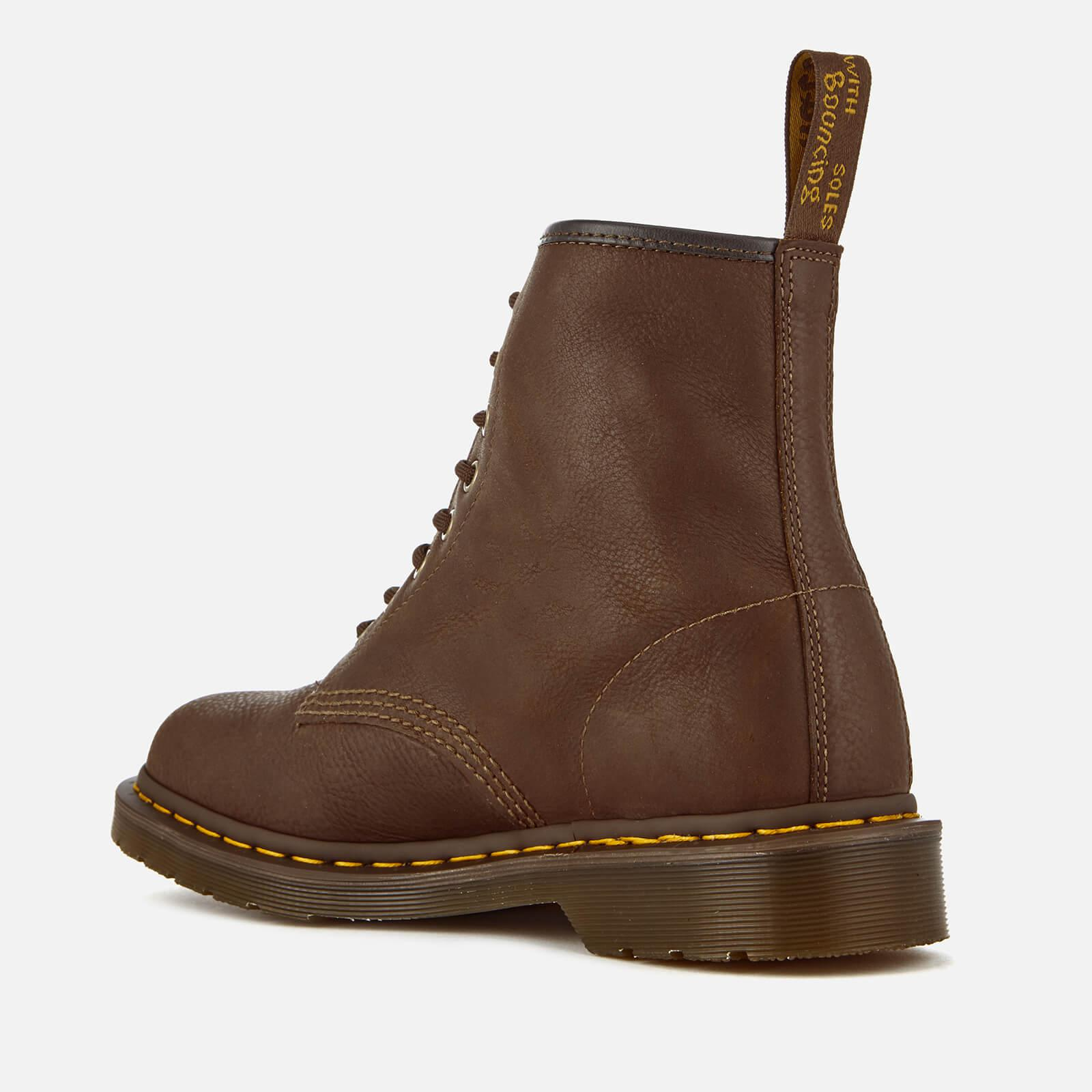 d1434b5c6aa Dr. Martens Brown 1460 Carpathian Full Grain Leather 8-eye Boots for men