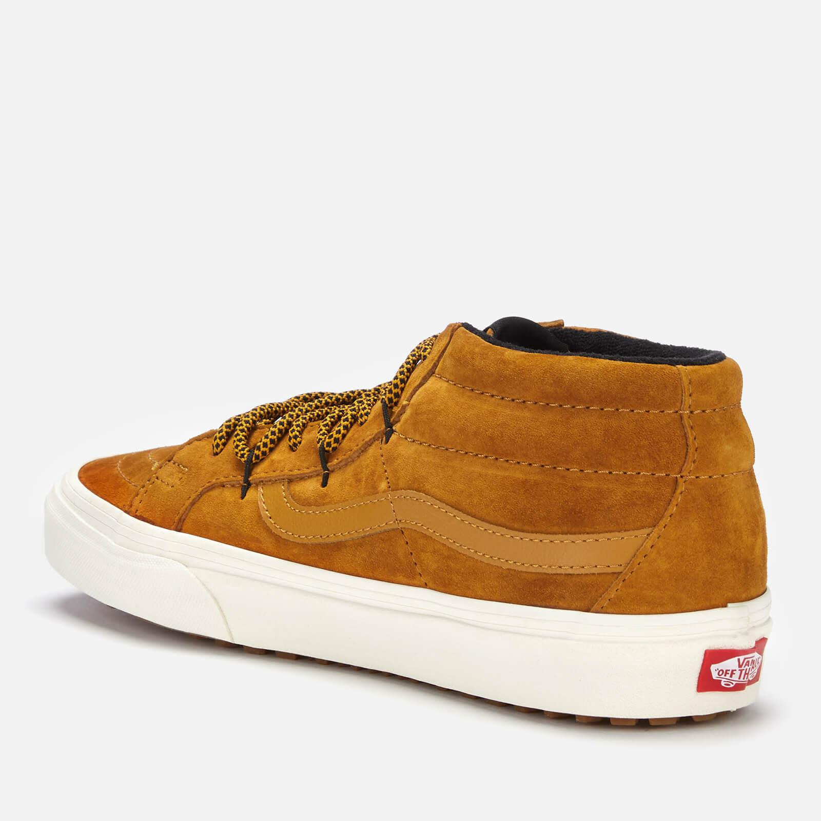 57767e660a8741 Vans - Brown Sk8-mid Reissue Ghillie Met Water Resistant Trainers for Men -  Lyst. View fullscreen