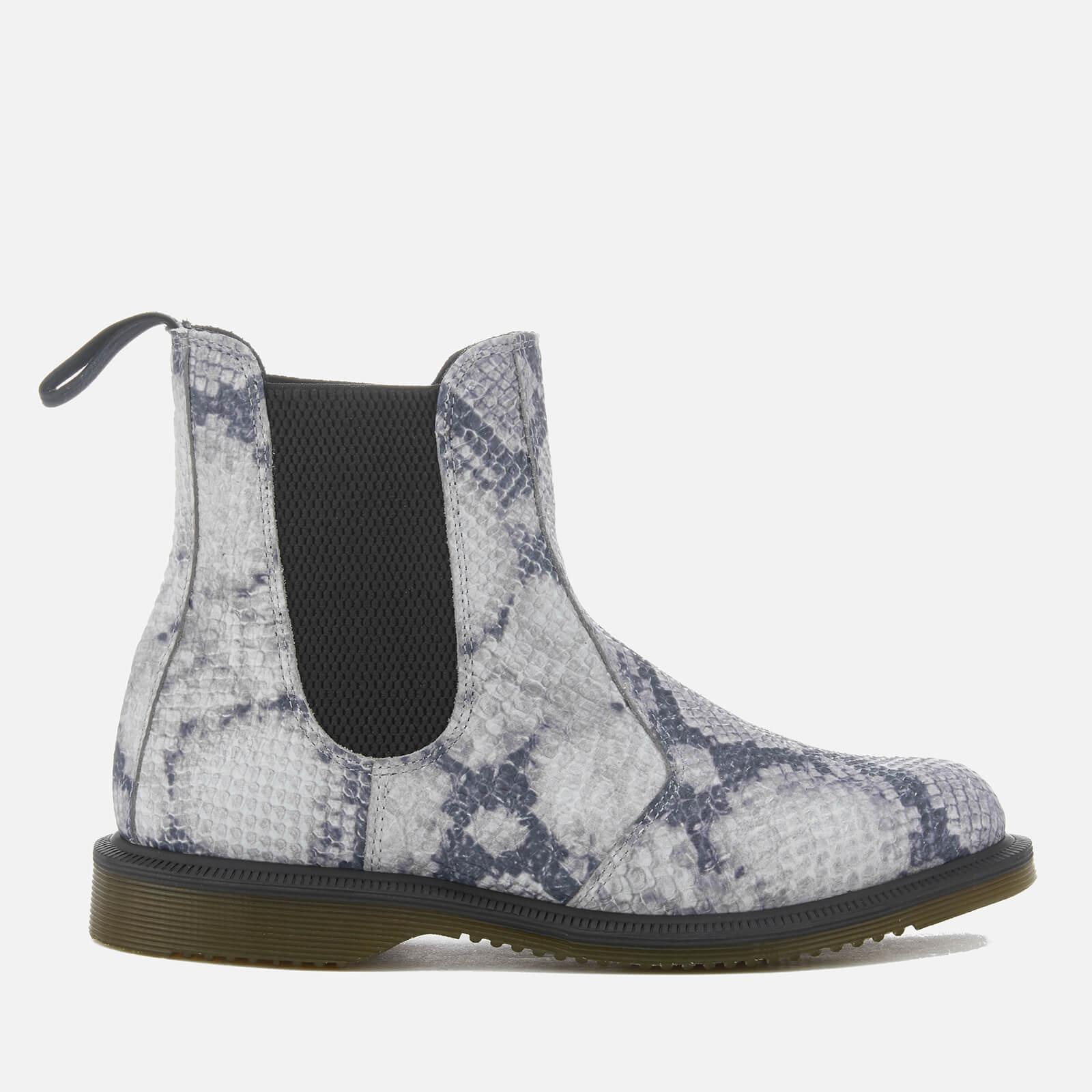 low price fee shipping Dr Martens Kensington Chelsea Boots in Faux Snake Print buy cheap supply WOBMshQMZ