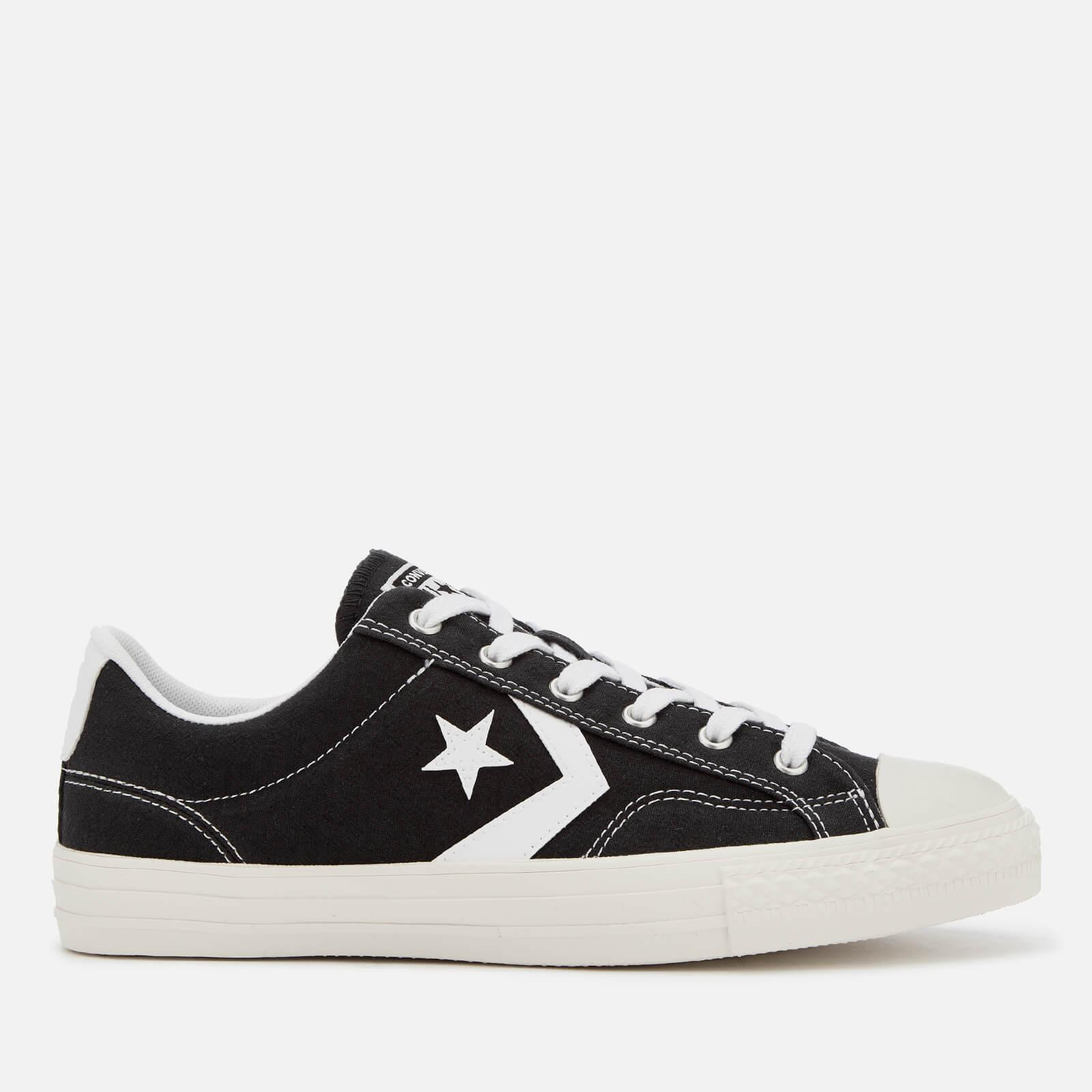 889e7ed573de Lyst - Converse Star Player Ox Trainers in Black for Men