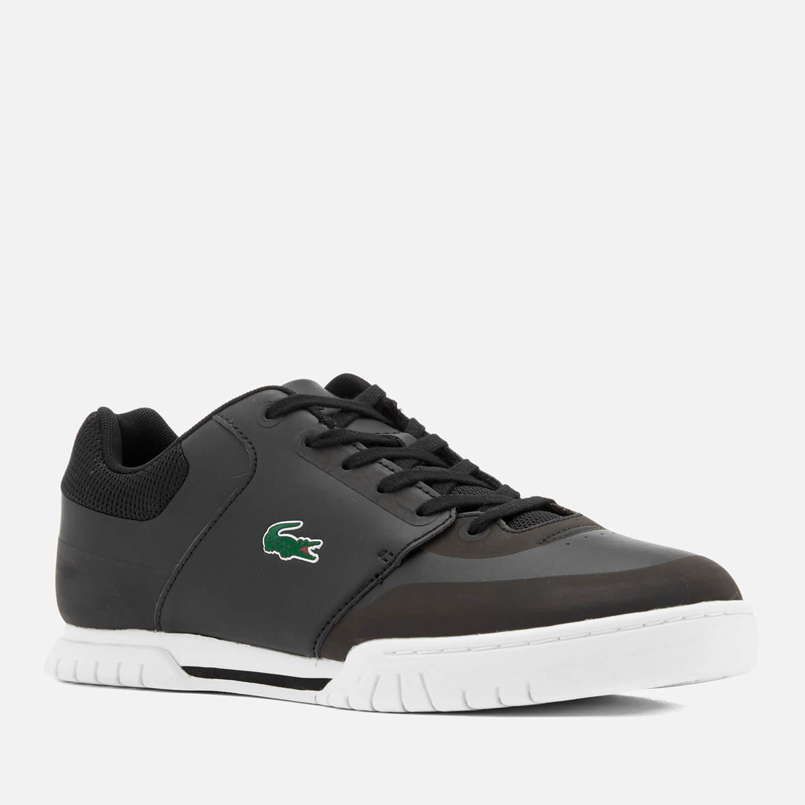 6c666dc1346d ... Rene Platform Graphic Laced Trainers Shoes Black White Red eBay  Lyst -  Lacoste Men s Indiana Evo 316 Trainers in Black for Men ...