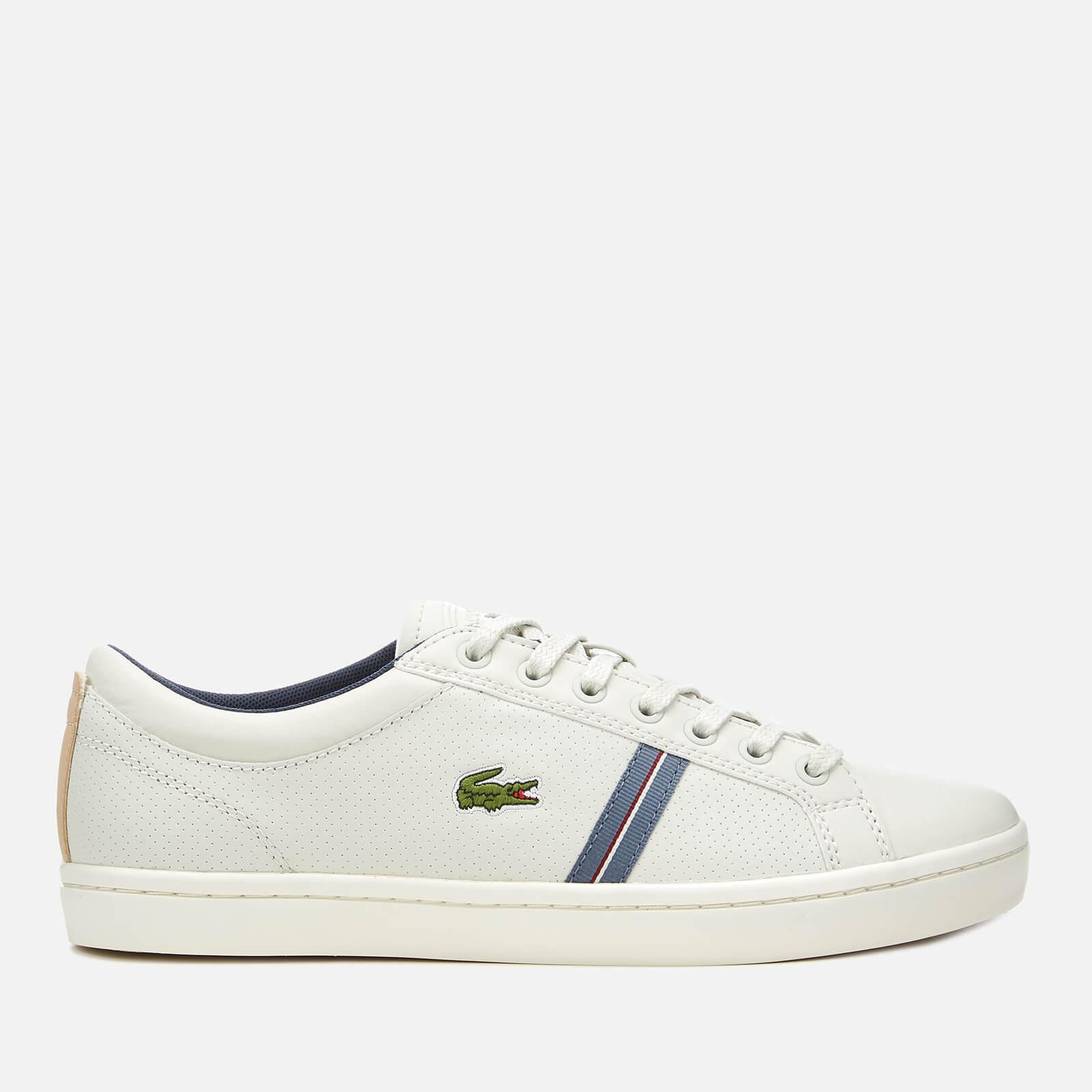 f6817ab865bec0 Lyst - Lacoste Straightset Sport 318 1 Leather Trainers in White for Men